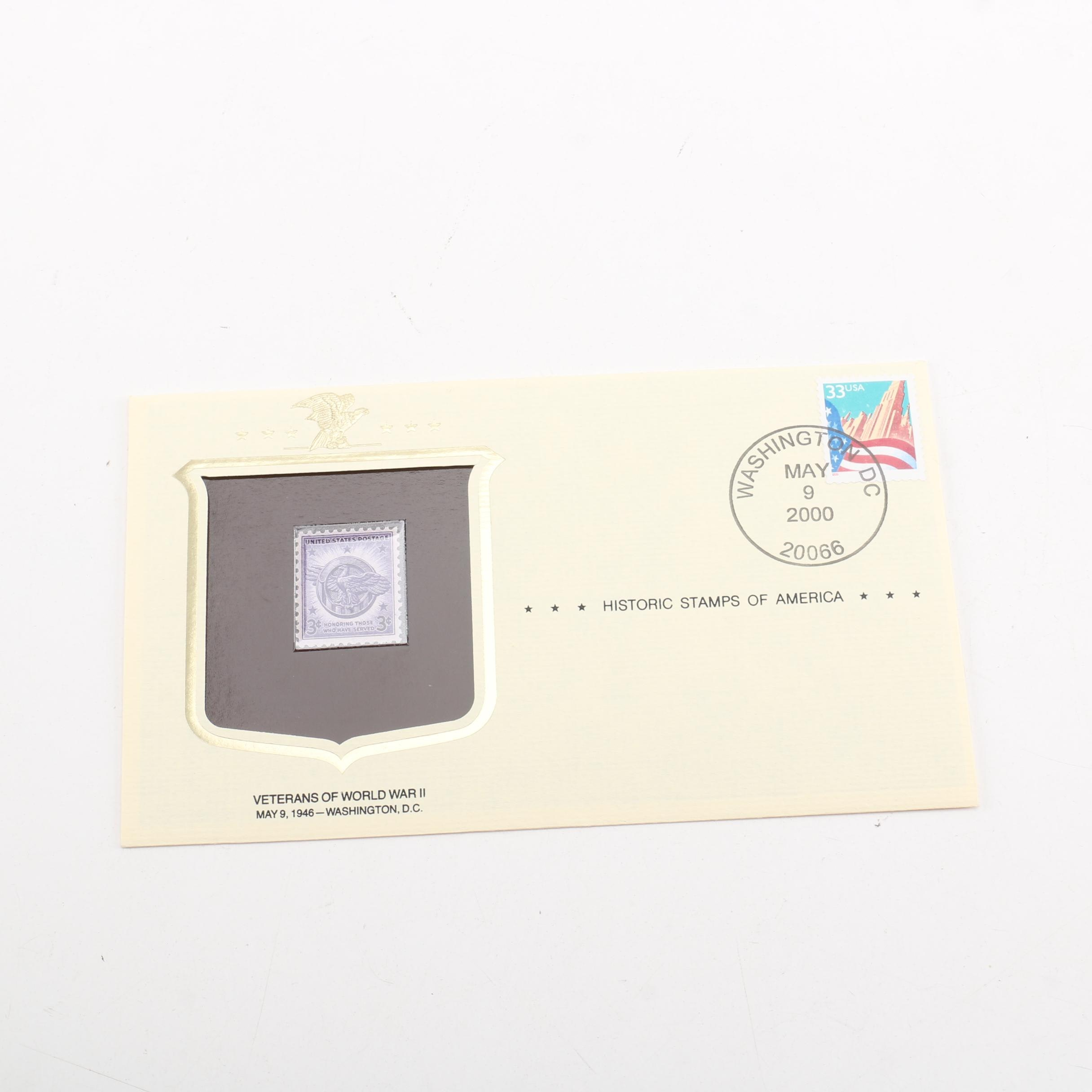 United States Commemorative Cover Postage Stamp