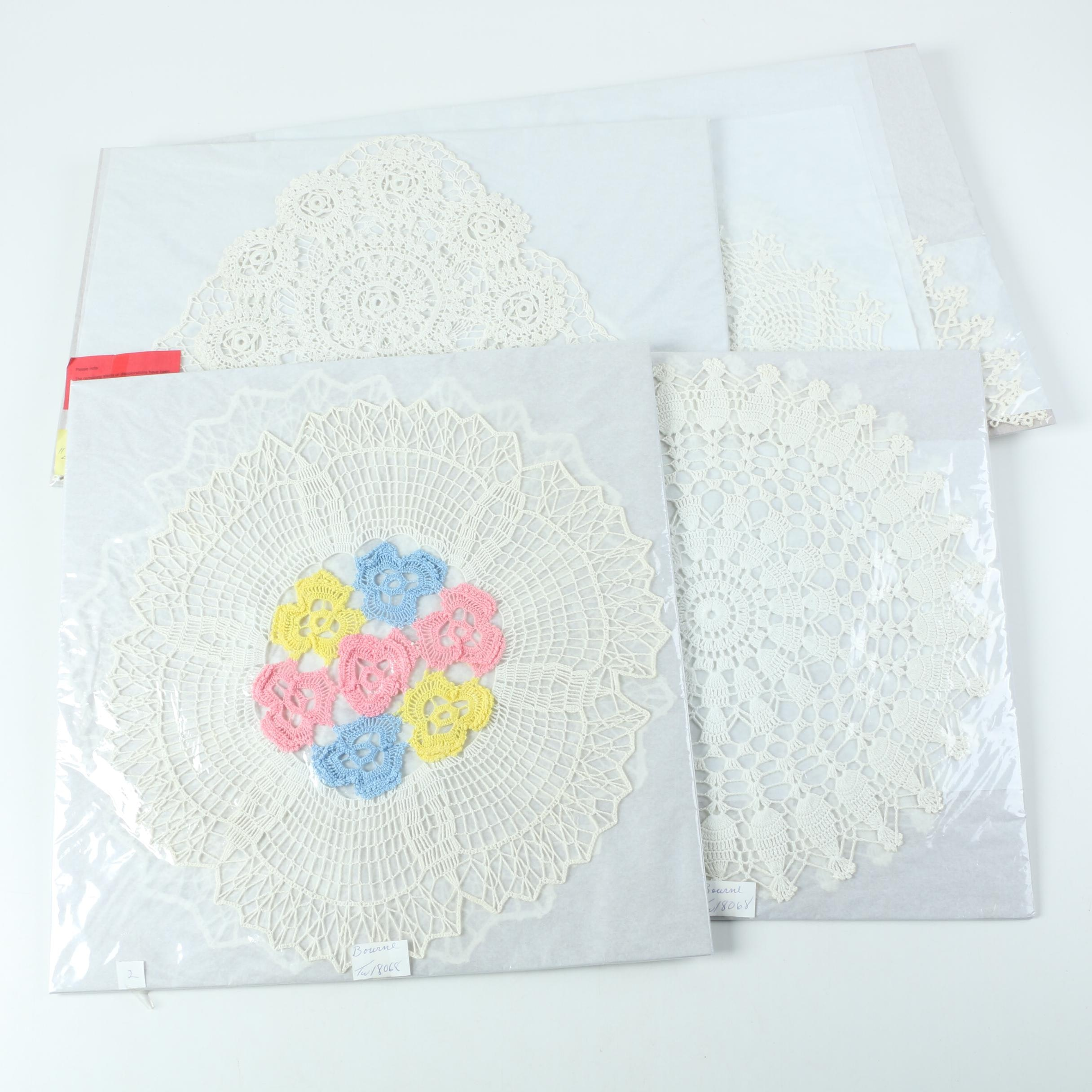 Hand Made Lace Doilies
