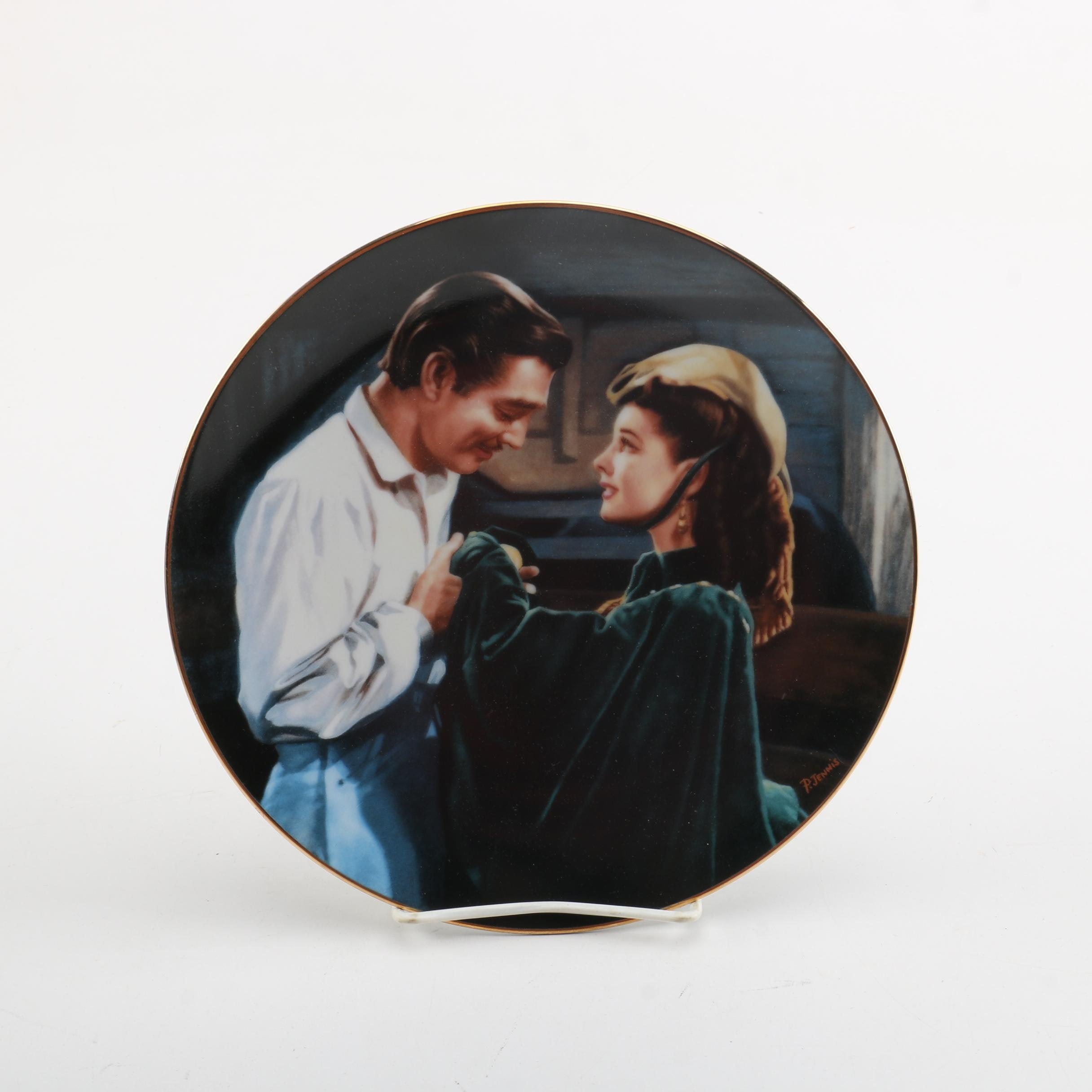 "W.S. George Fifth Issue in ""Gone With the Wind"" Collector Plate Series"