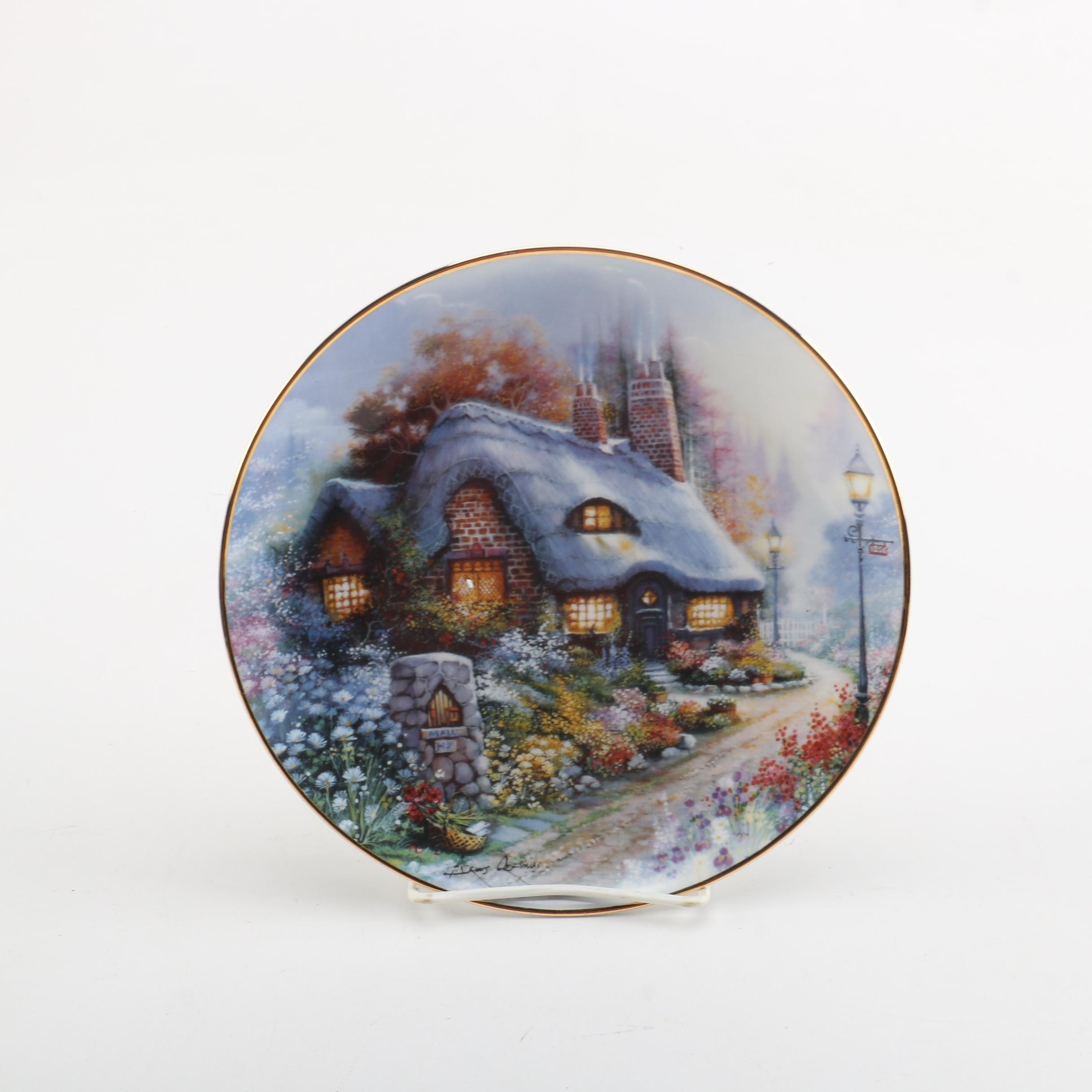 """Royal Doulton """"The Cottage on Daisy Lane"""" Commemorative Plate"""