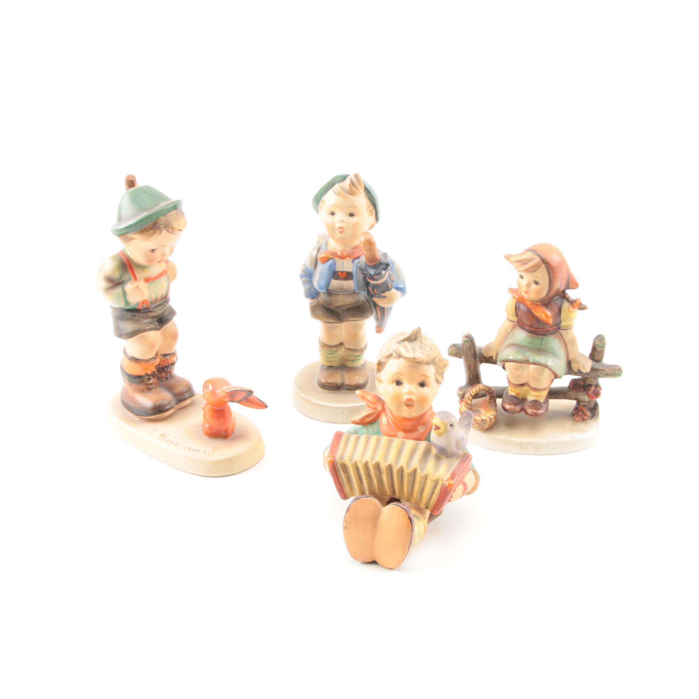 Collection of Goebel Hummel Figurines