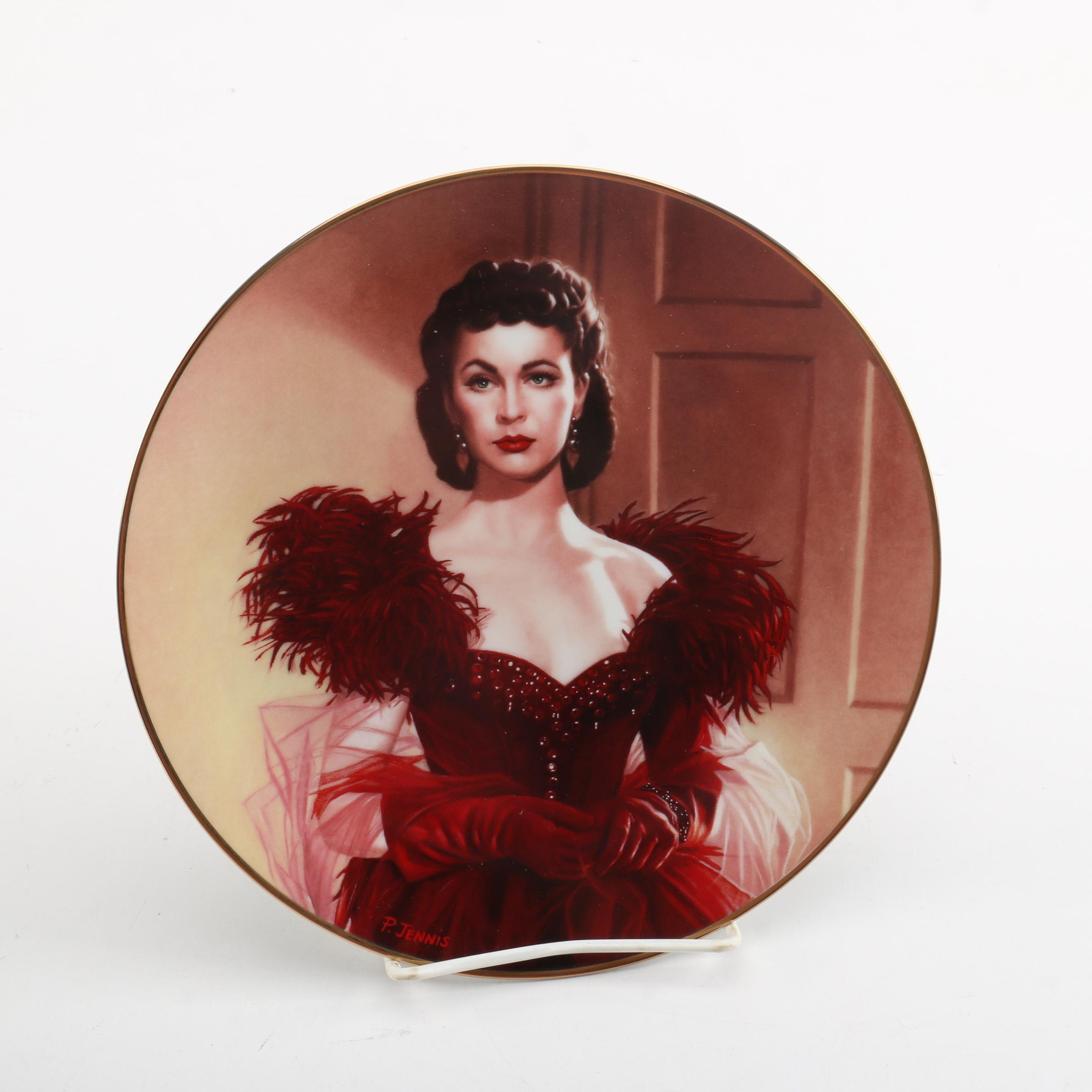 """Gone With The Wind"" Pride and Passion Series Collector Plate"