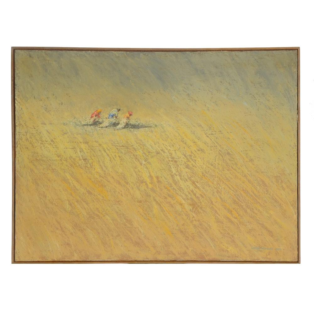 "Lonnie Leonard Original Oil Painting on Canvas ""Good Earth"""