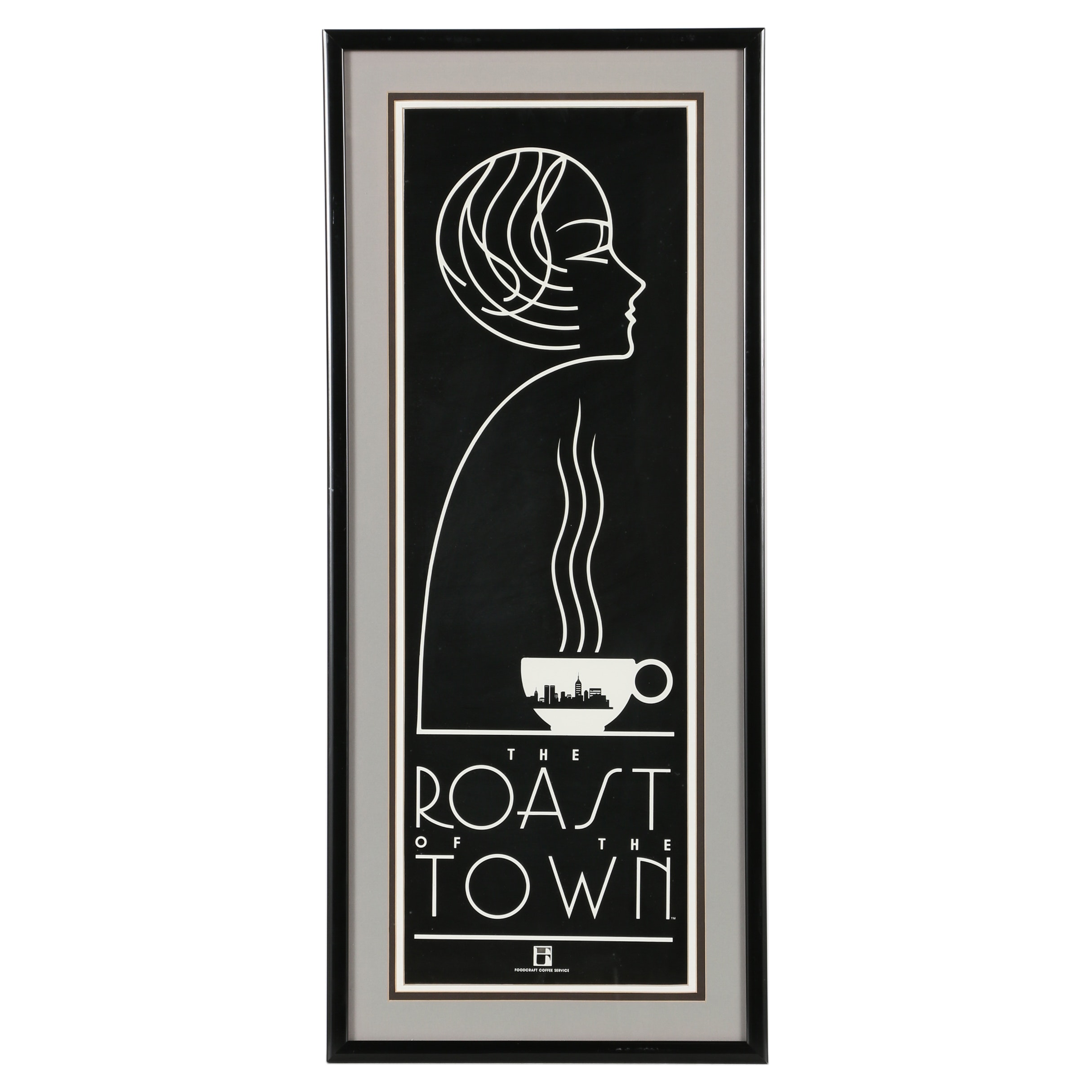 "Serigraph Poster ""The Roast of the Town"""