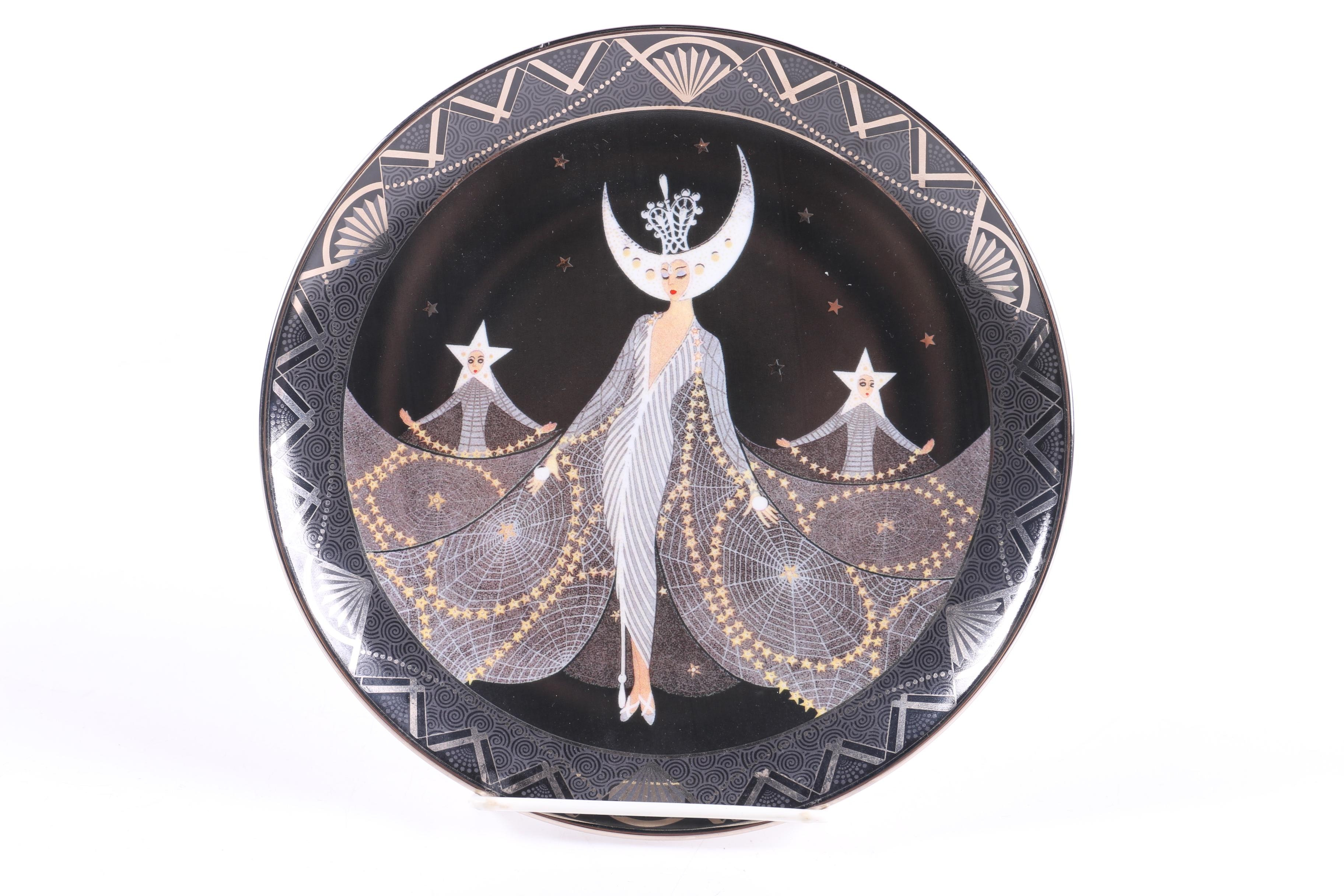 Royal Doulton House of Erté Limited Edition Plate