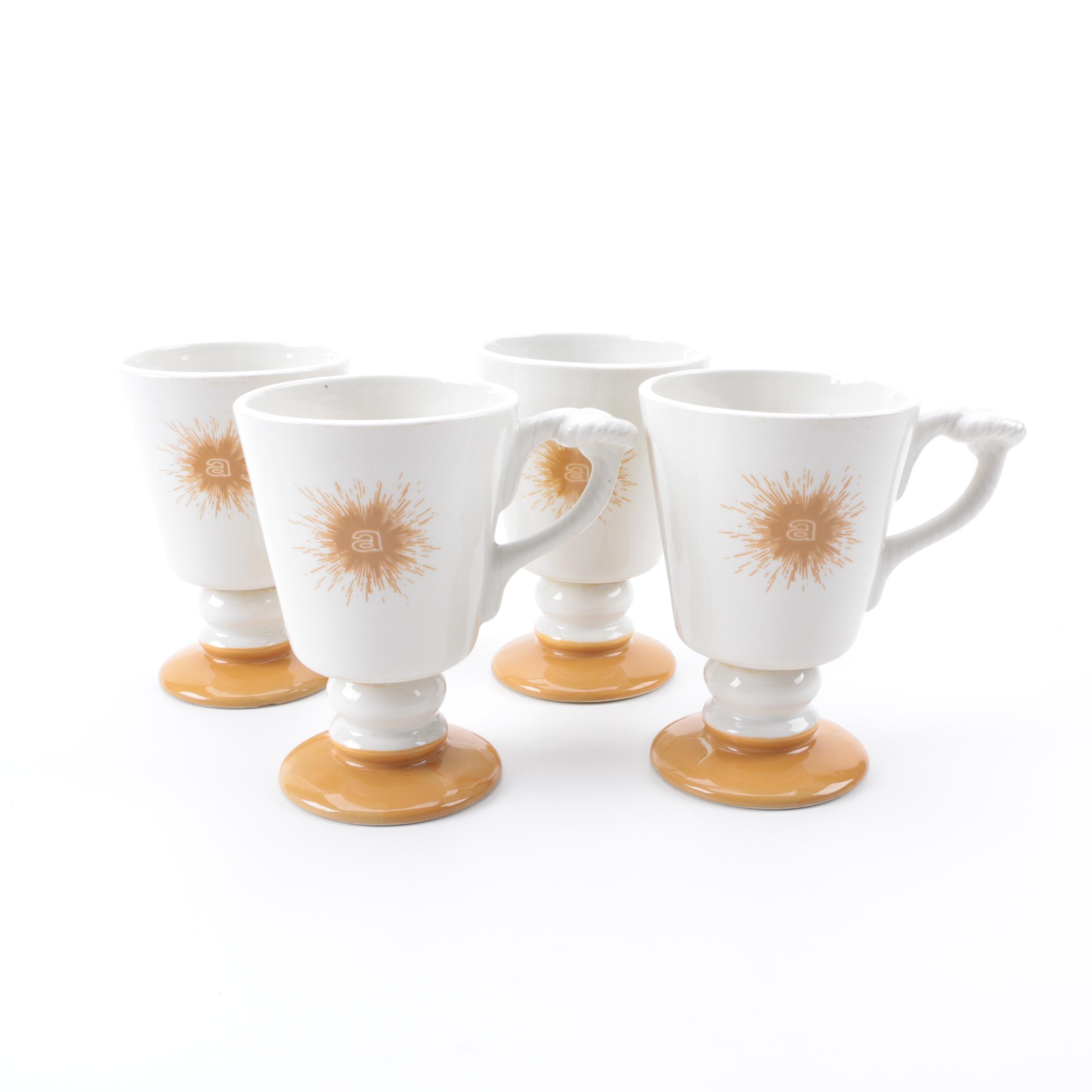 Set of Hall Mugs 1973