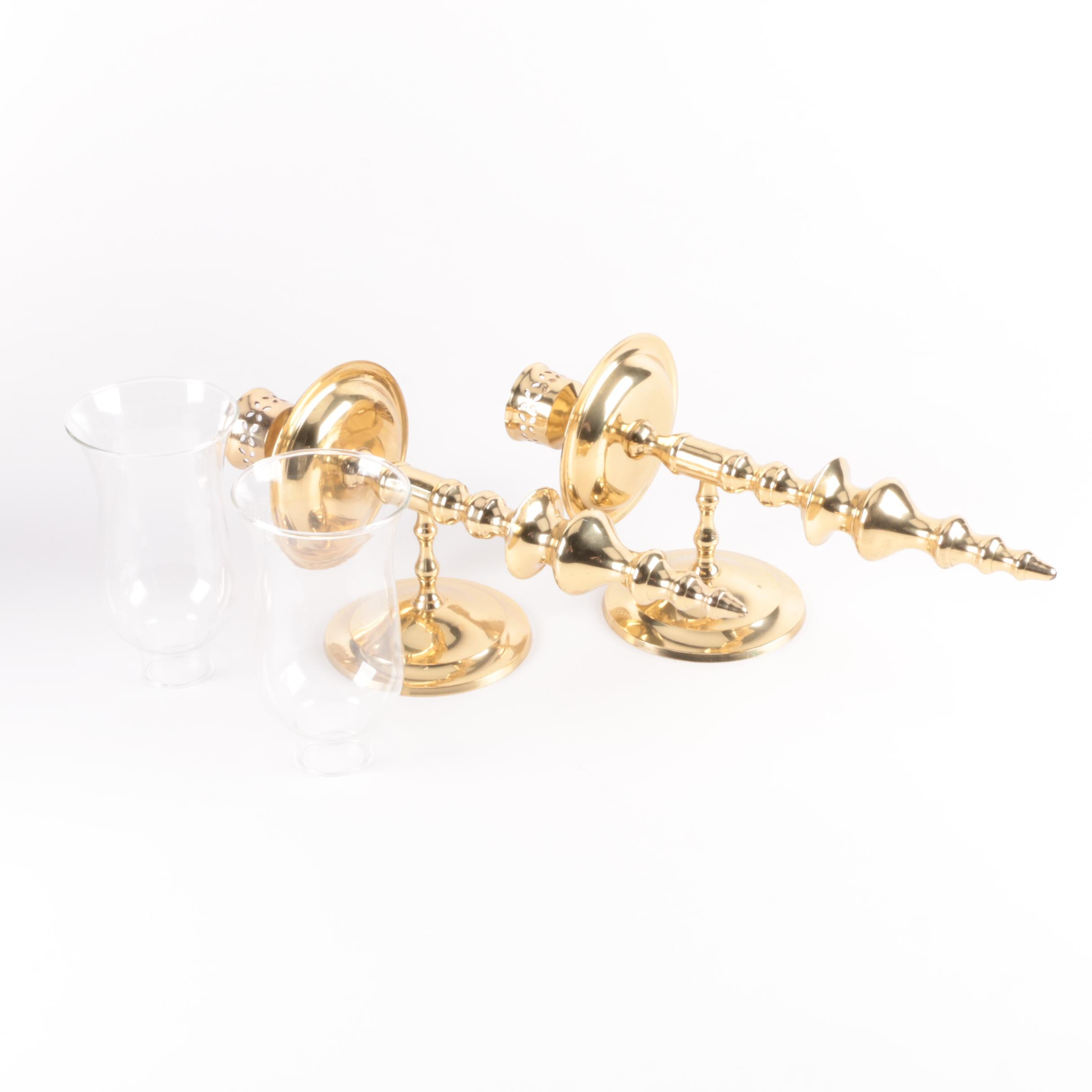 Brass Candle Wall Sconces