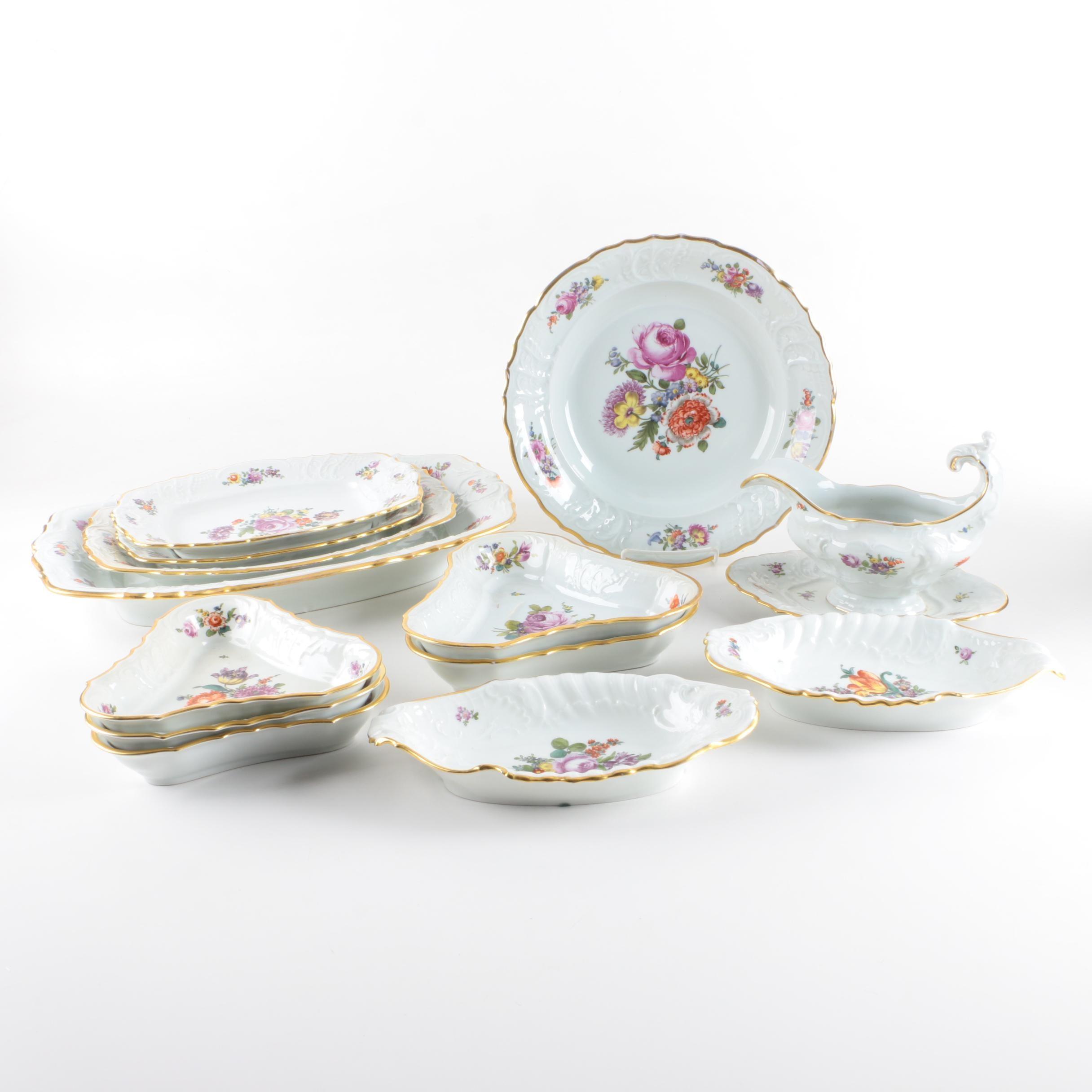 1917-26 Fraureuth Porcelain Serveware