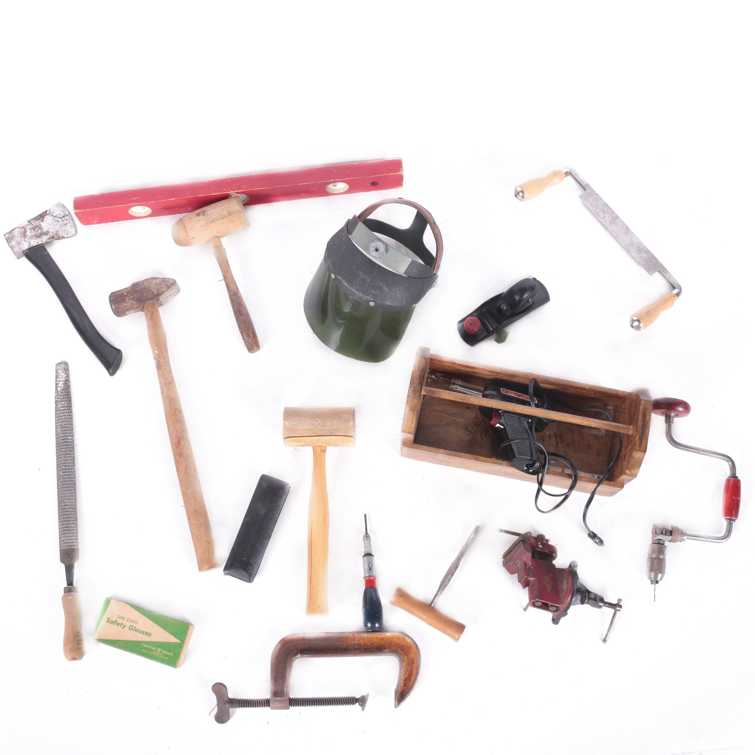 Collection of Handheld Tools