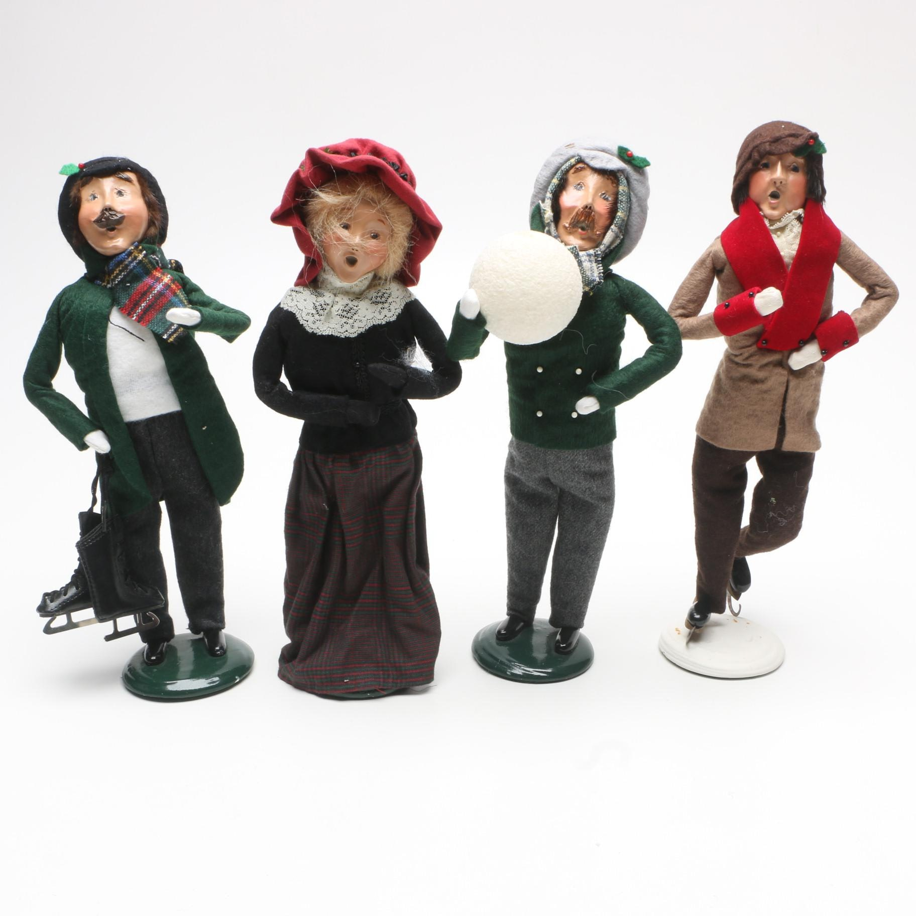 "Vintage Byers' Choice ""Caroler"" Figurines"