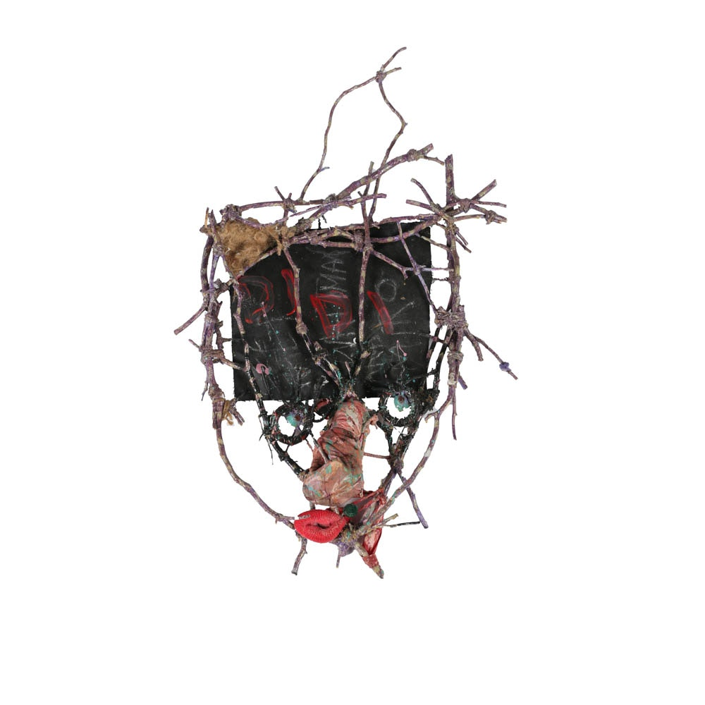"""Frank Kowing Mixed Media Sculpture """"DIDI"""""""