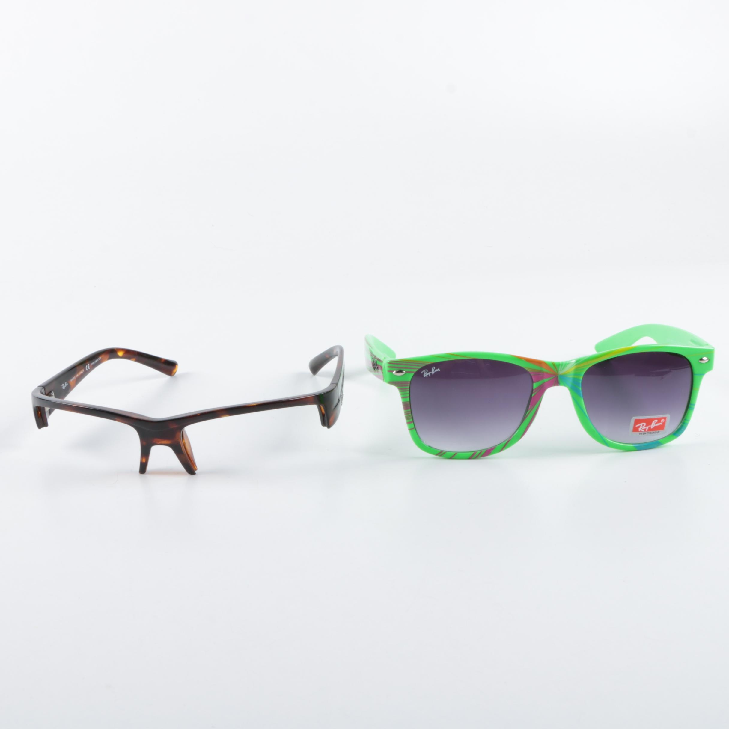 Ray-Ban Wayfarer Sunglasses and Frames