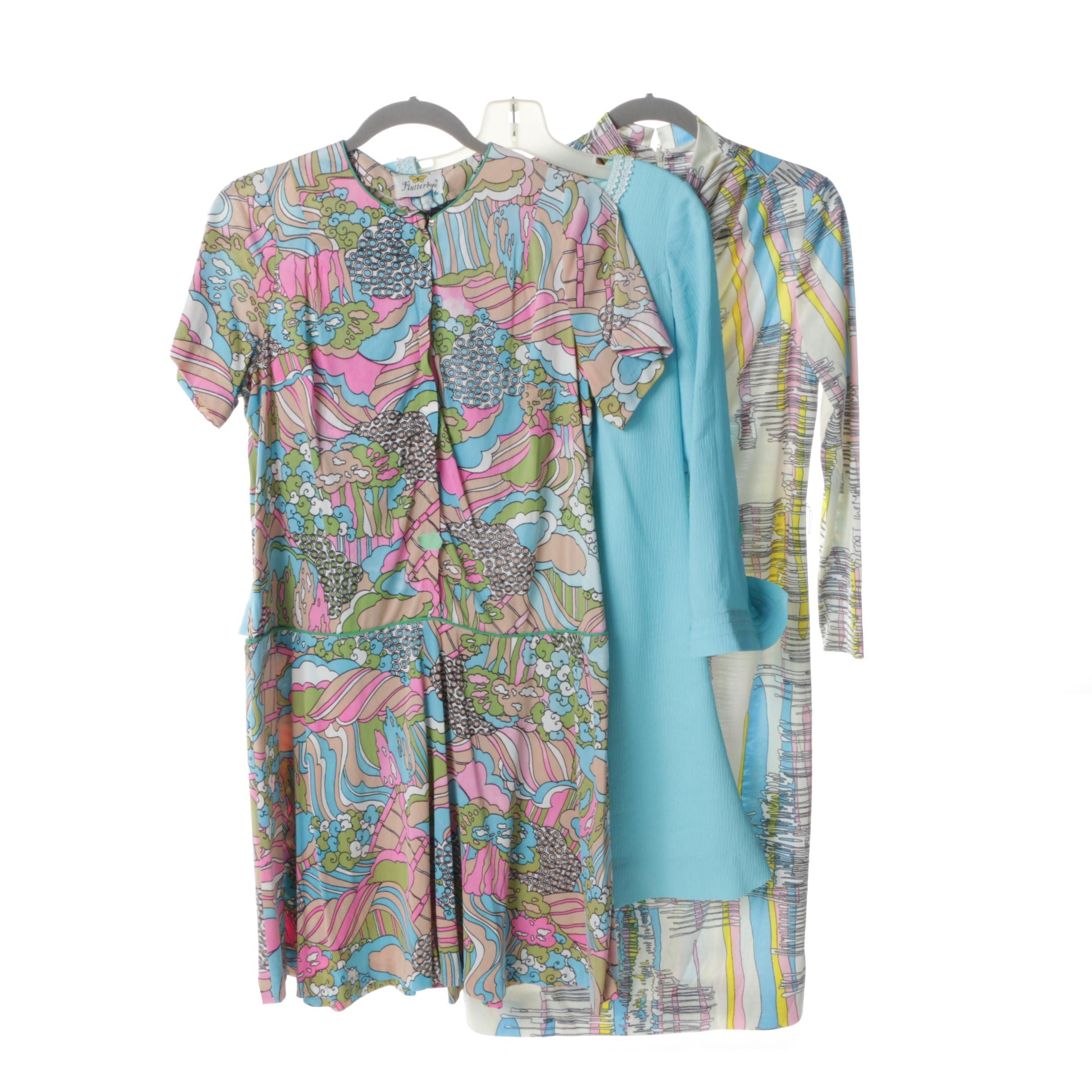 Vintage Dresses Circa 1960's