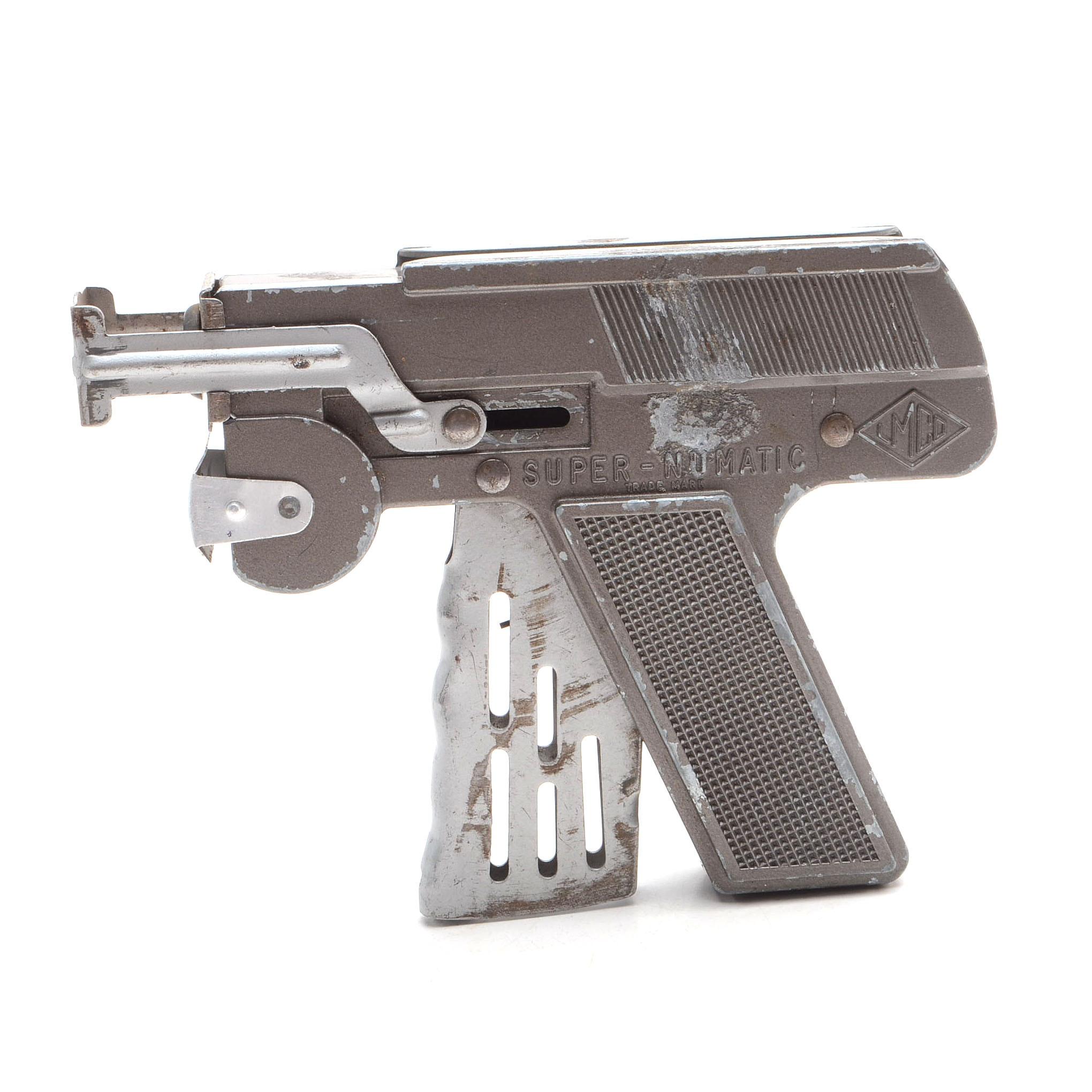 """1940s-1950s  """"Super Numatic"""" Toy Pistol"""