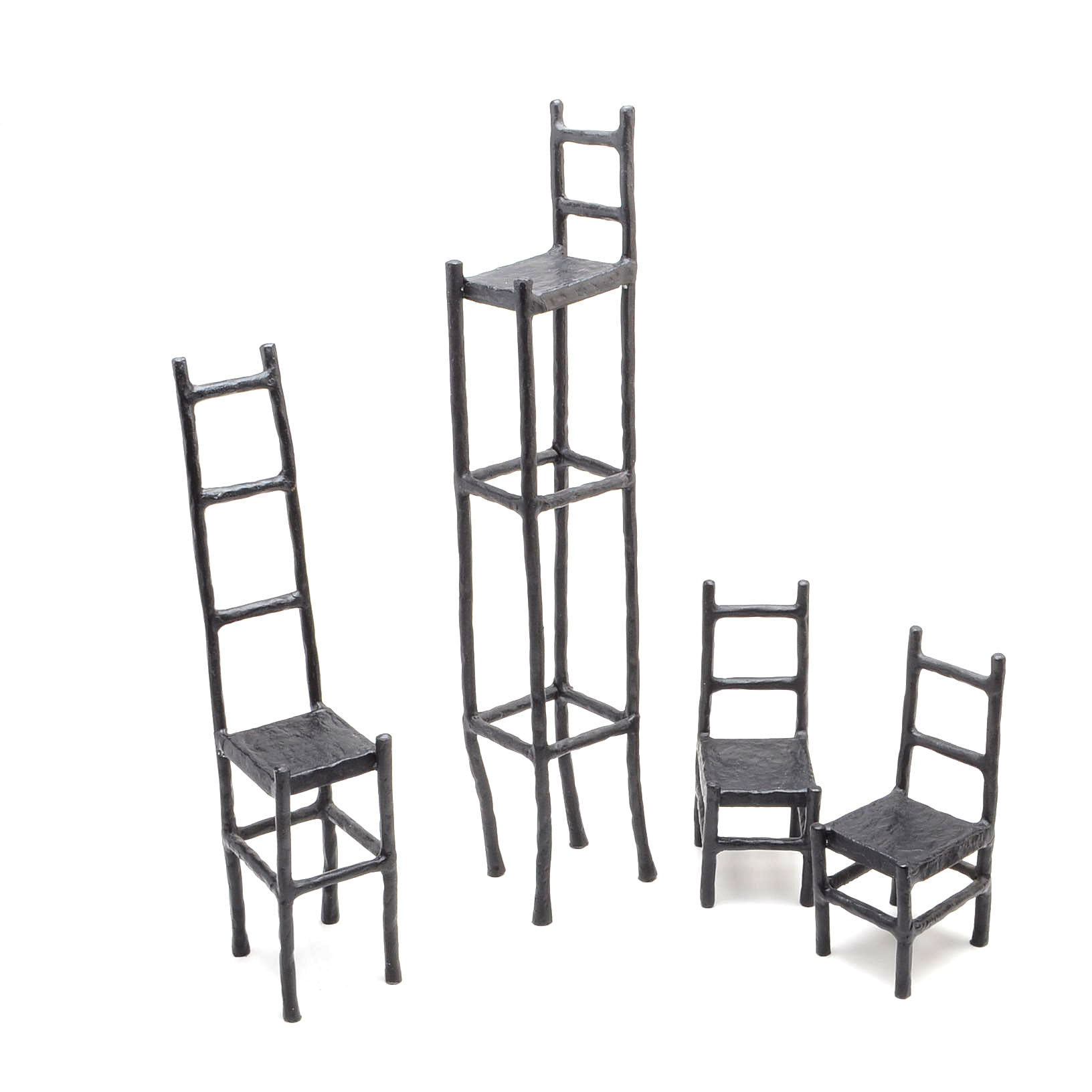 Decorative Cast Iron Chairs