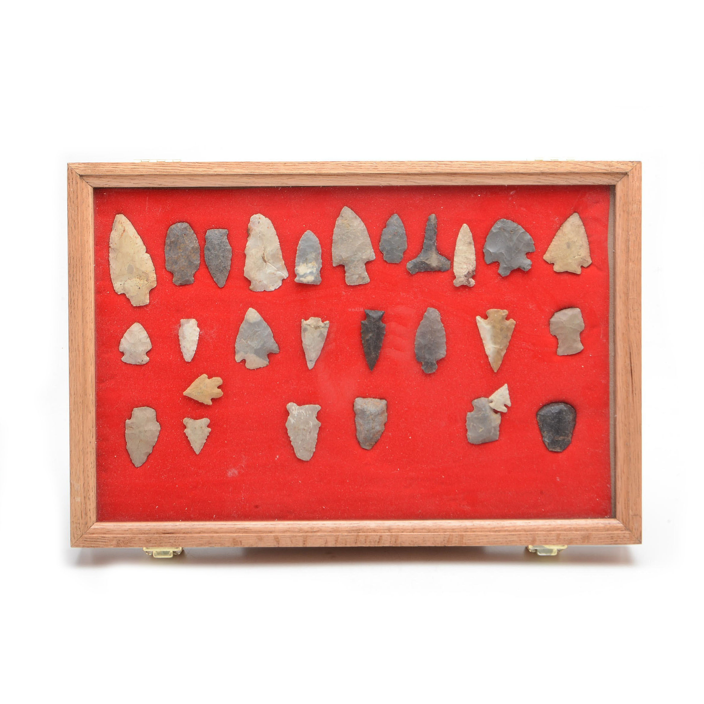 Collection of Native American Projectile Points
