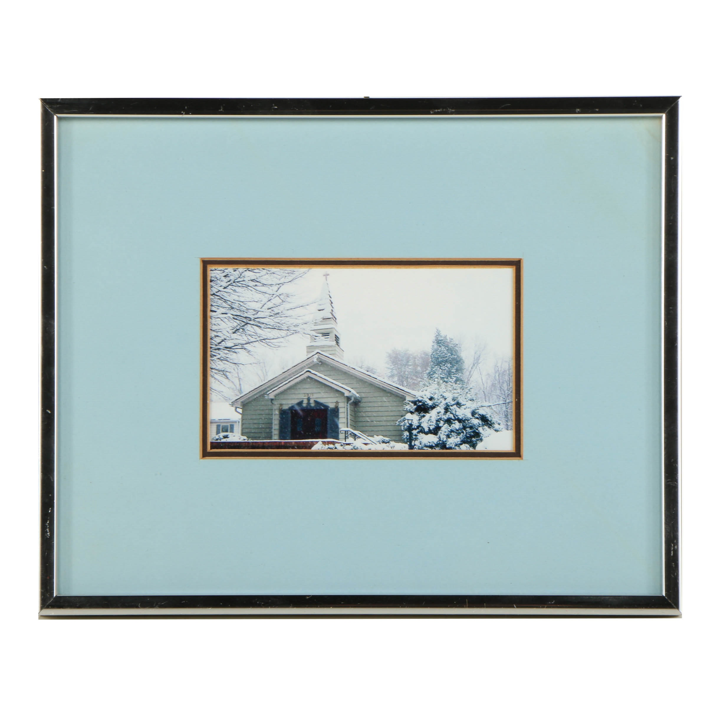 Digital Color Photograph of a Church