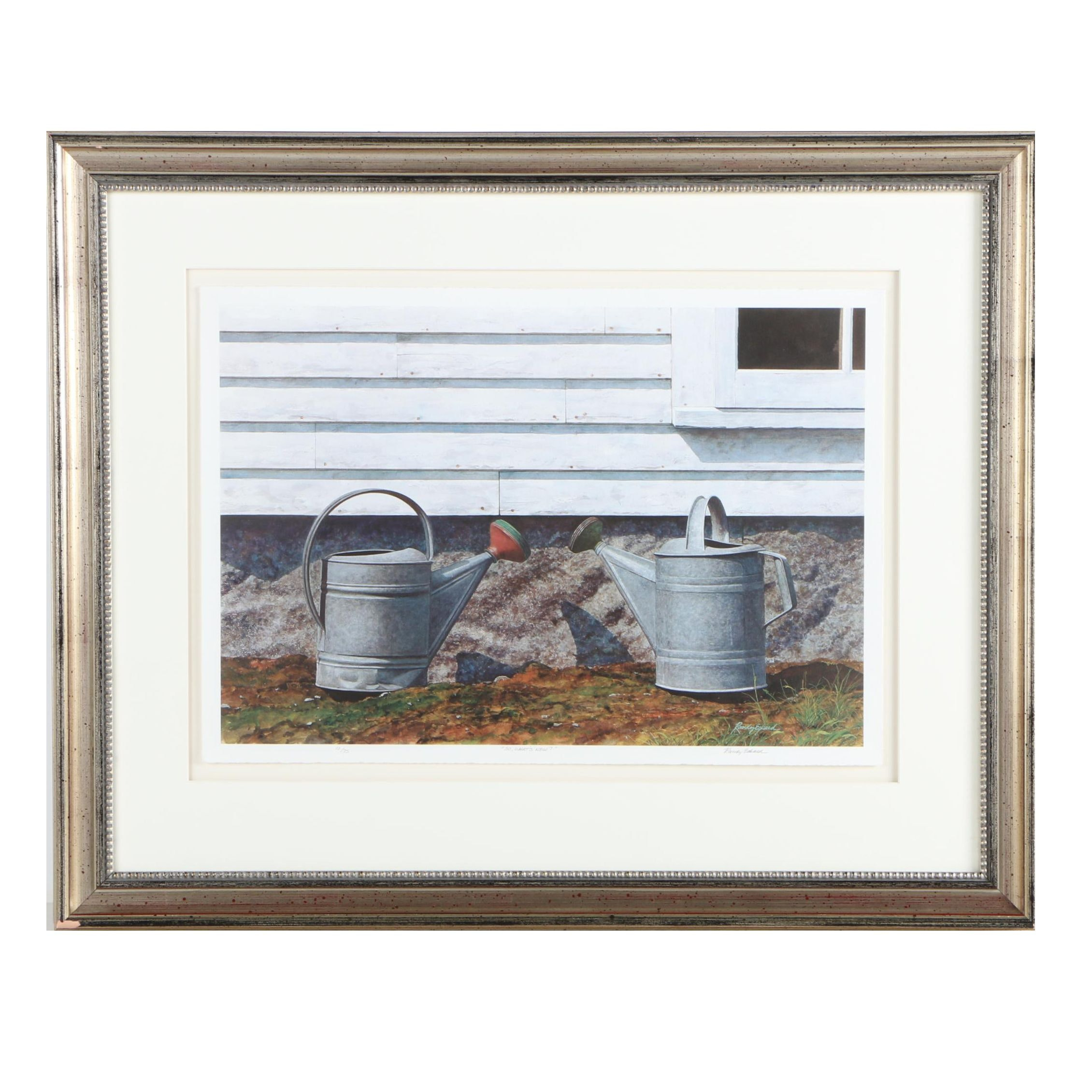 """Randy Eckard Limited Edition Giclee """"So, What's New?"""""""