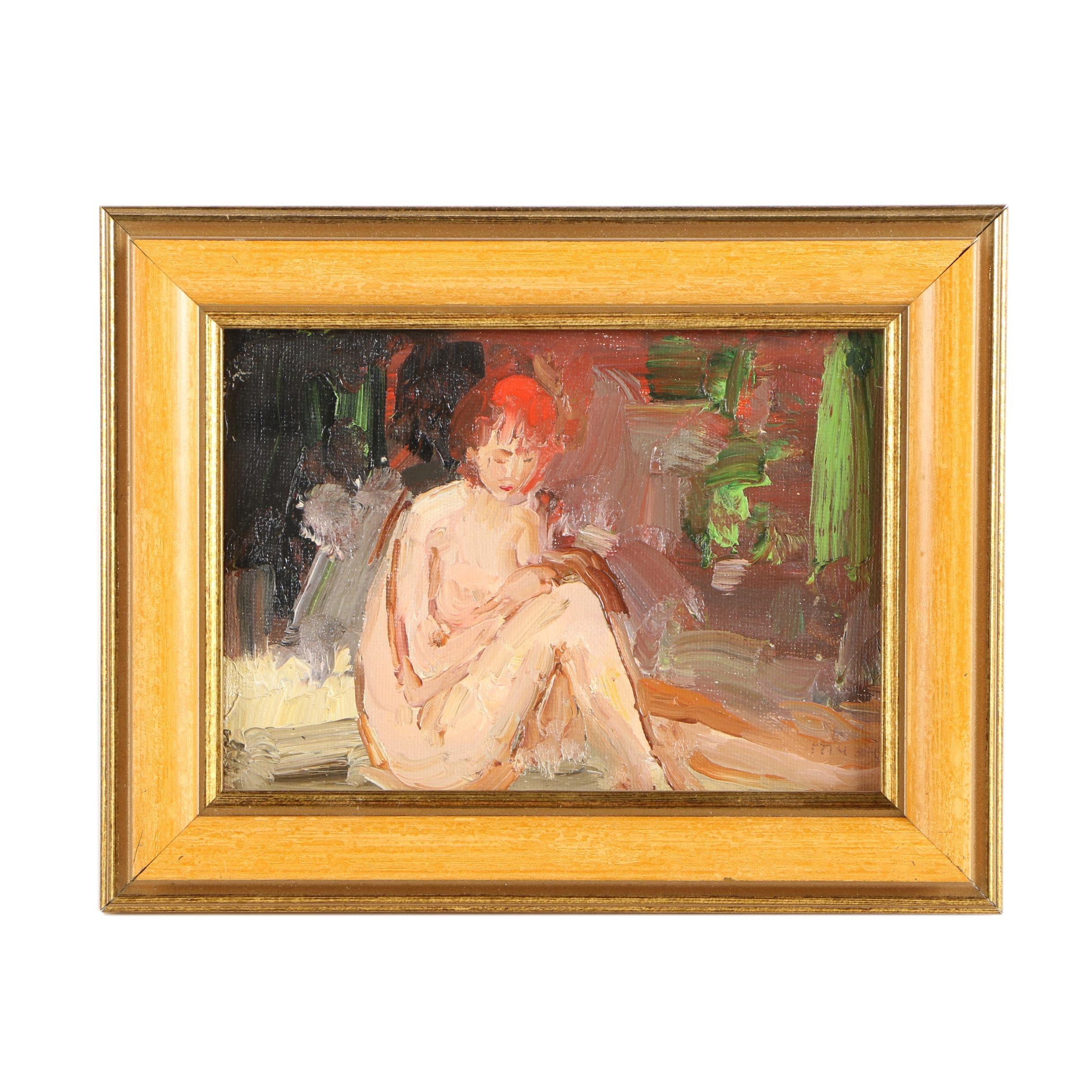 """Murat Kaboulov Oil Painting """"#420 Nude"""""""