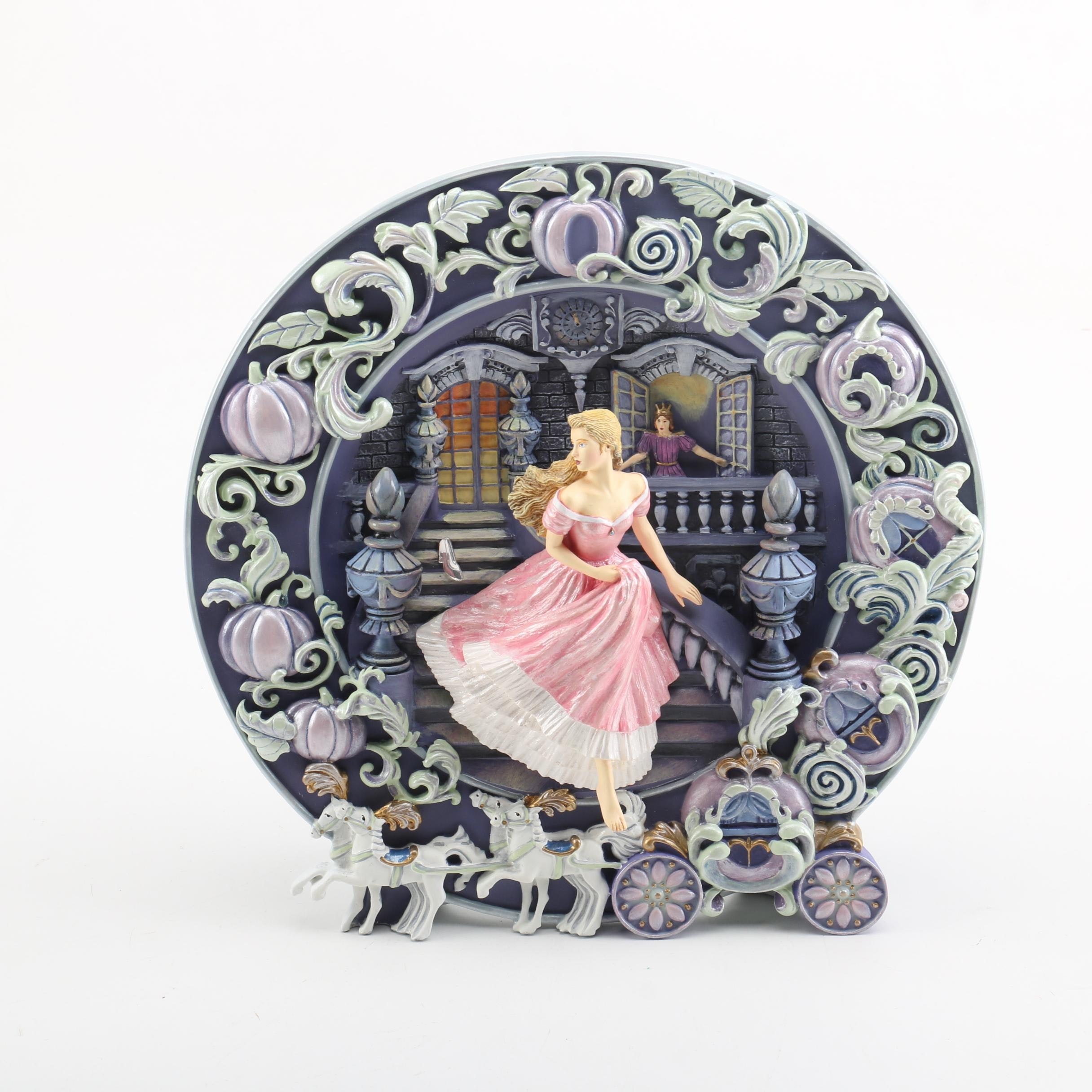"""Franklin Mint """"Cinderella, The Magical Hour"""" Plate"""