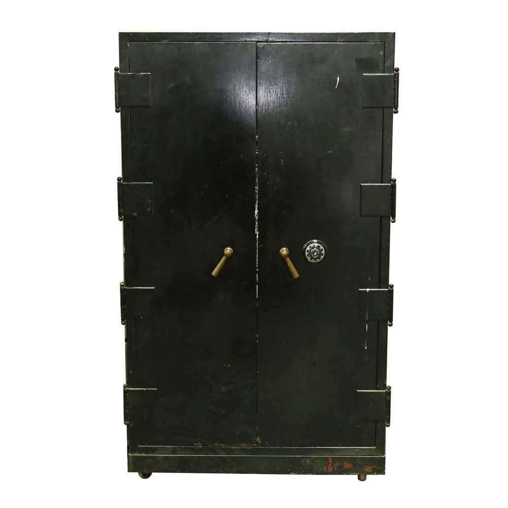 Vintage Office Safe with Sargent & Greenleaf Lock