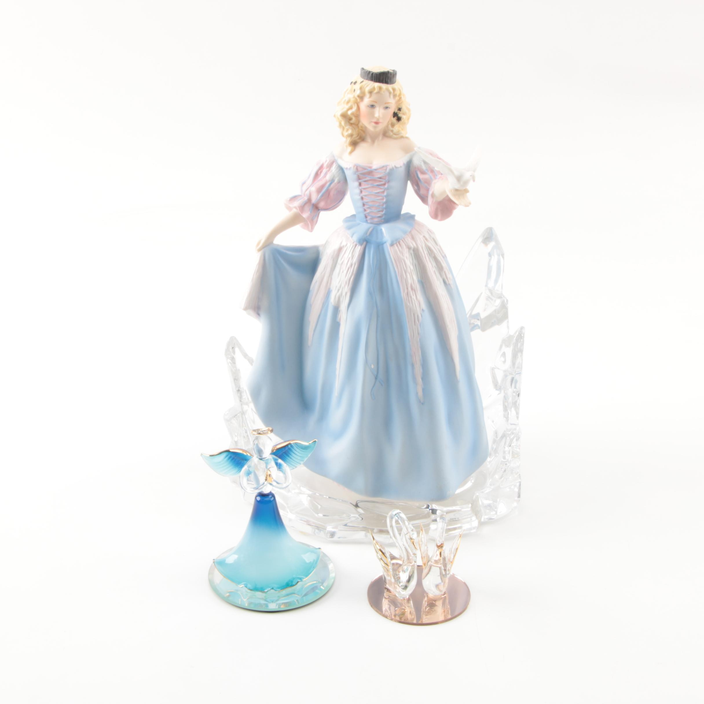 """House of Fabergé """"Princess of the Ice Palace"""" Porcelain Figurine and More"""