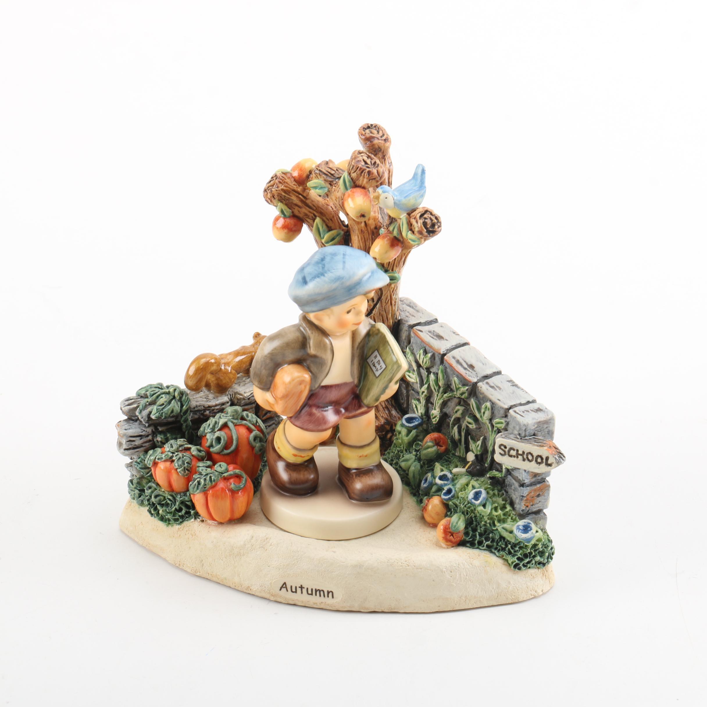 "Goebel ""Autumn Delights"" and ""School Days"" Figurine"