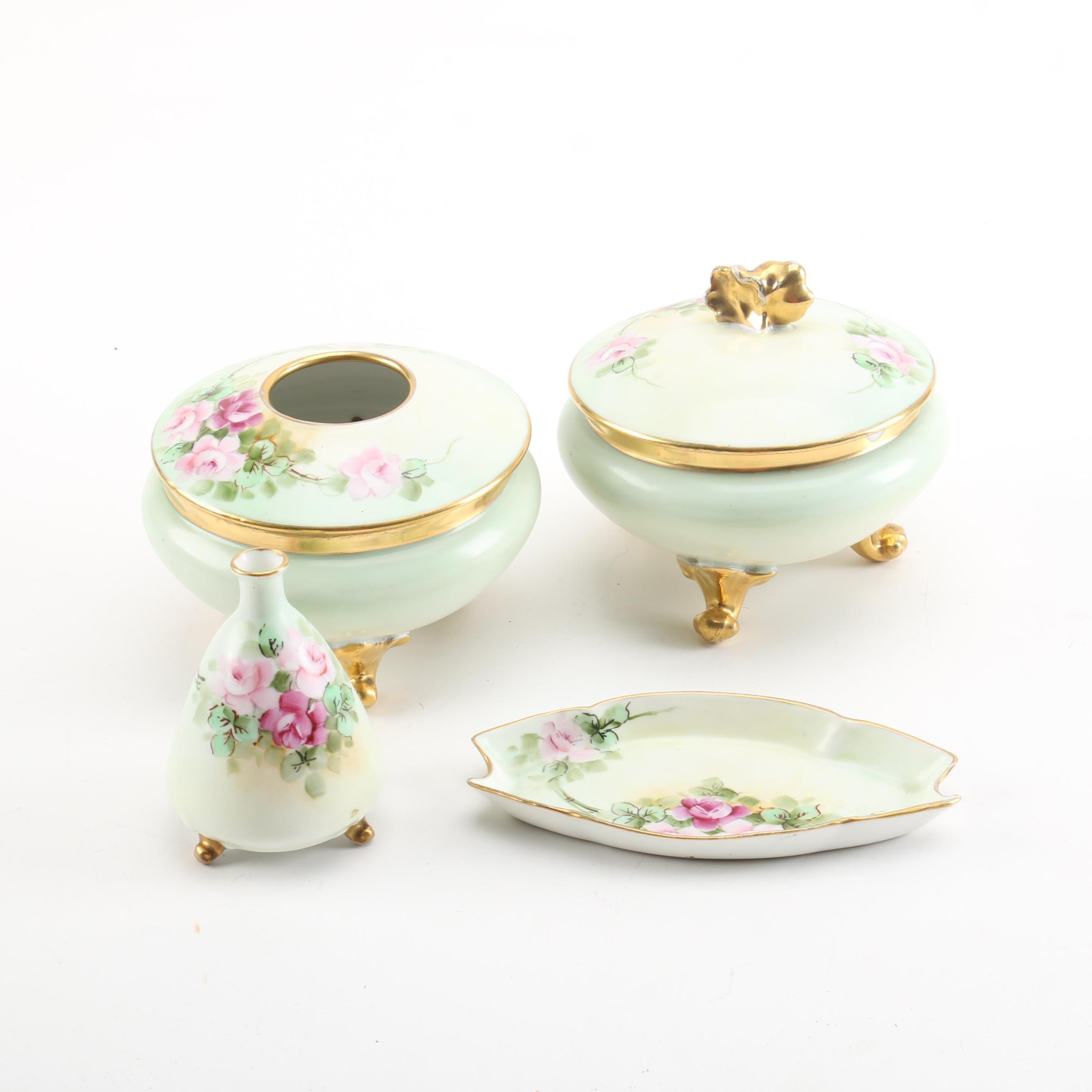 PL Limoges and O&EG Royal Austria Vanity Decor