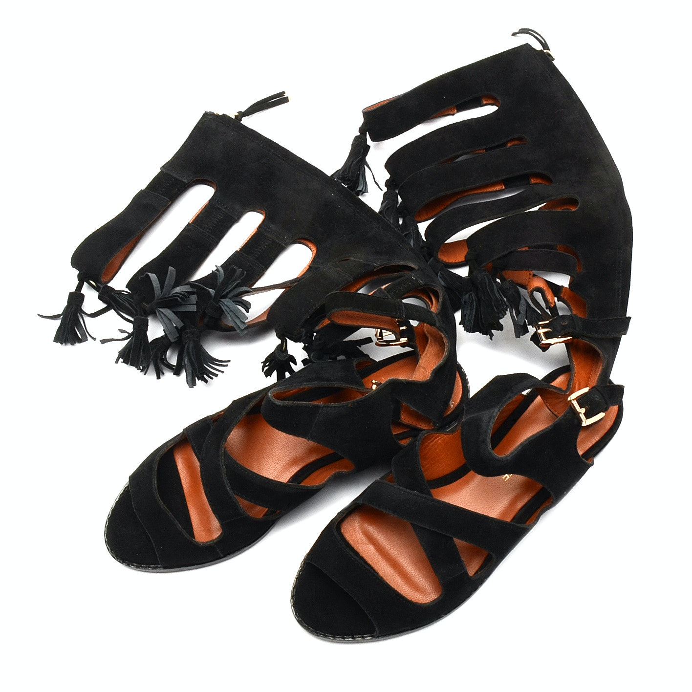 Suede Gladiator Sandals by Rebecca Minkoff