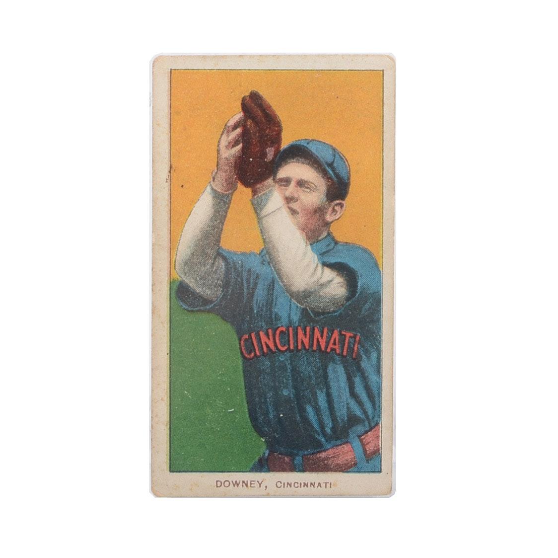"1909-1911 Thomas Downey ""Piedmont"" Tobacco Baseball Card"