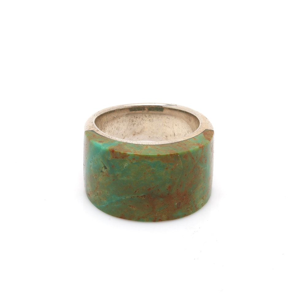 Barse Sterling Silver Turquoise Ring