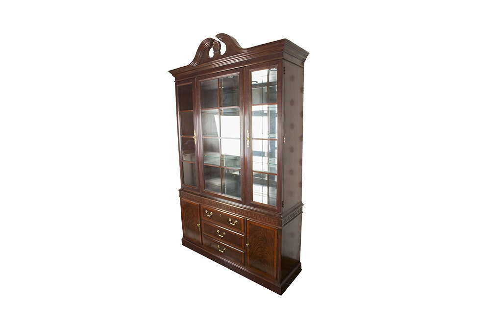 Drexel Georgian Style China Cabinet