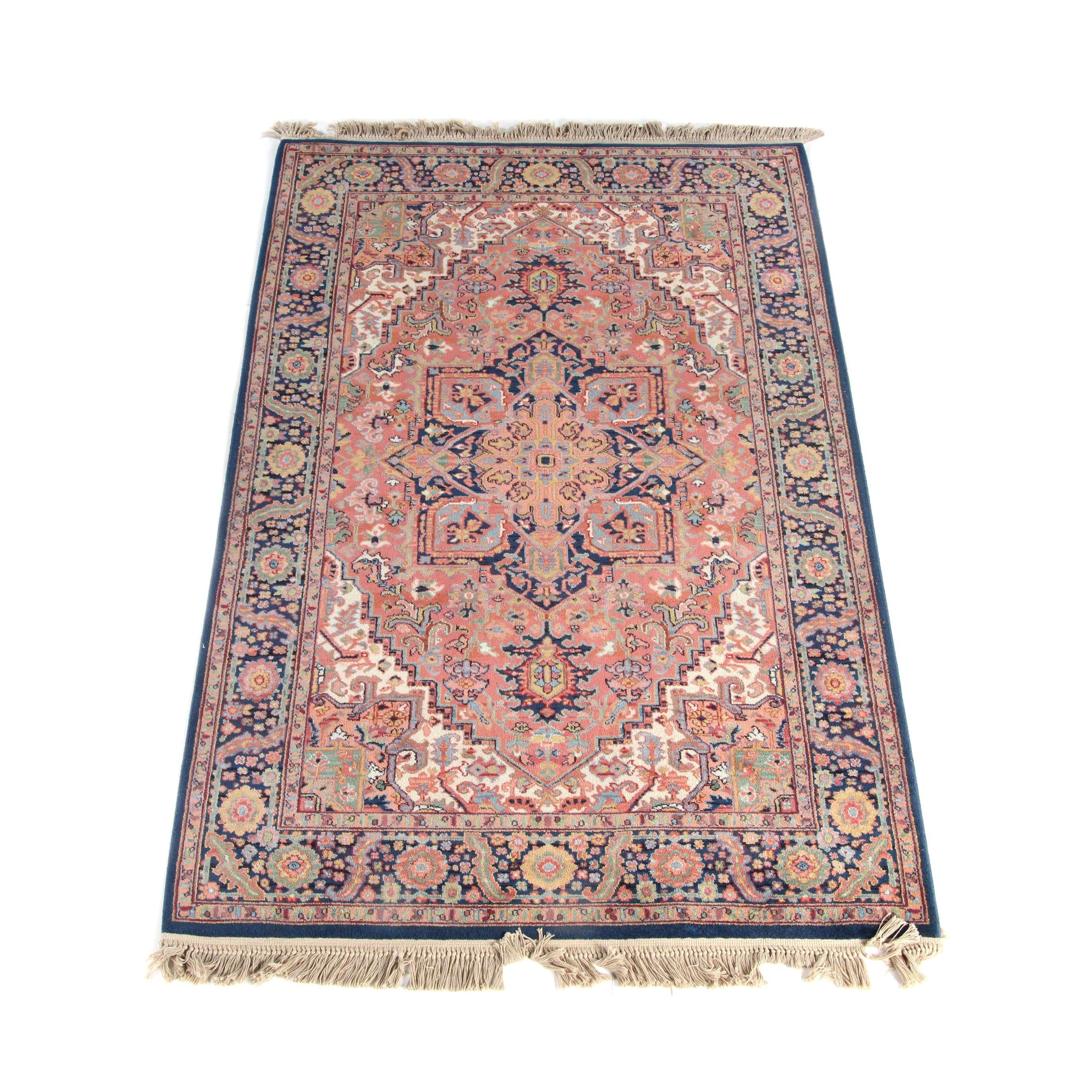 "Power-Loomed Karastan ""Heriz"" Wool Area Rug"