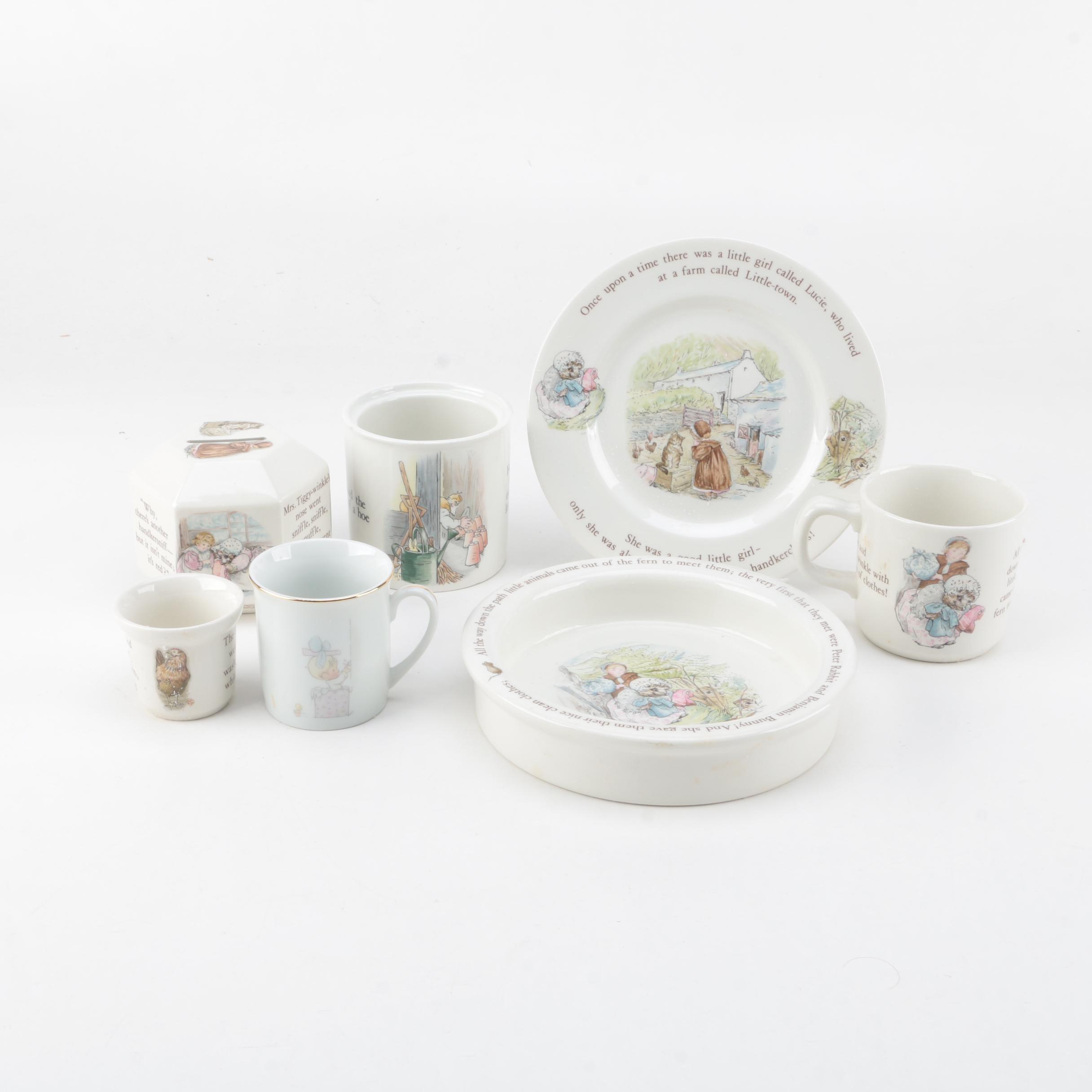 Wedgwood Beatrix Potter Porcelain Tableware ... & Wedgwood Beatrix Potter Porcelain Tableware : EBTH