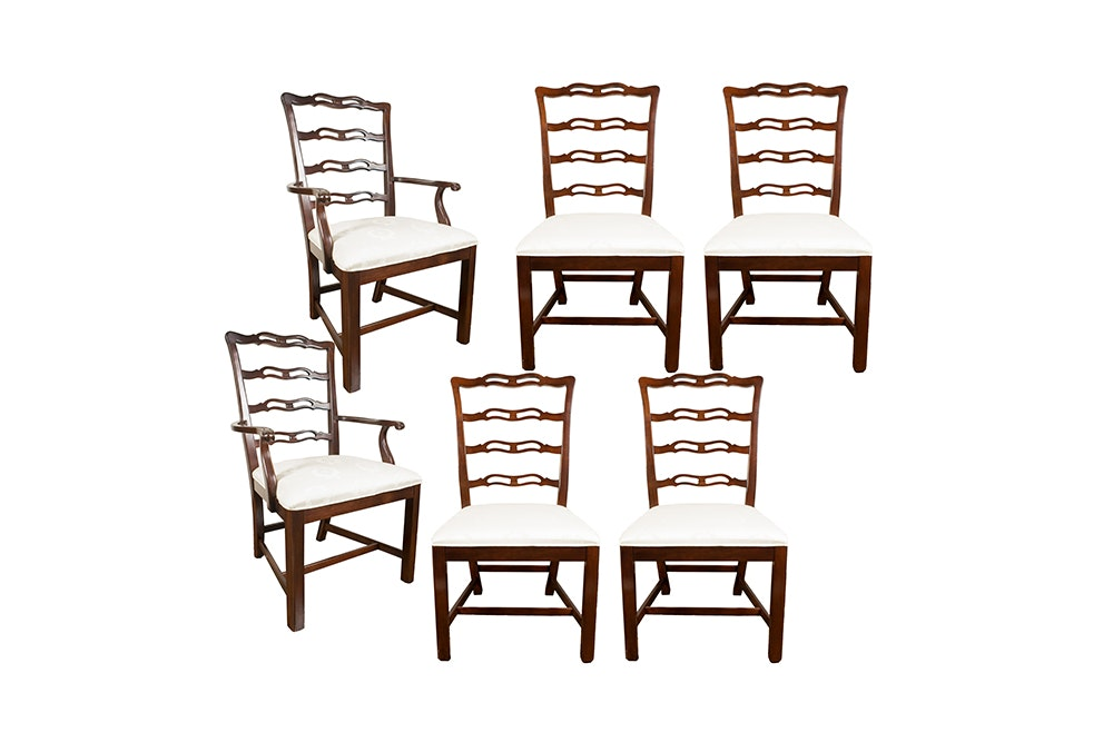 Chippendale Style Dining Chairs by Drexel-Heritage