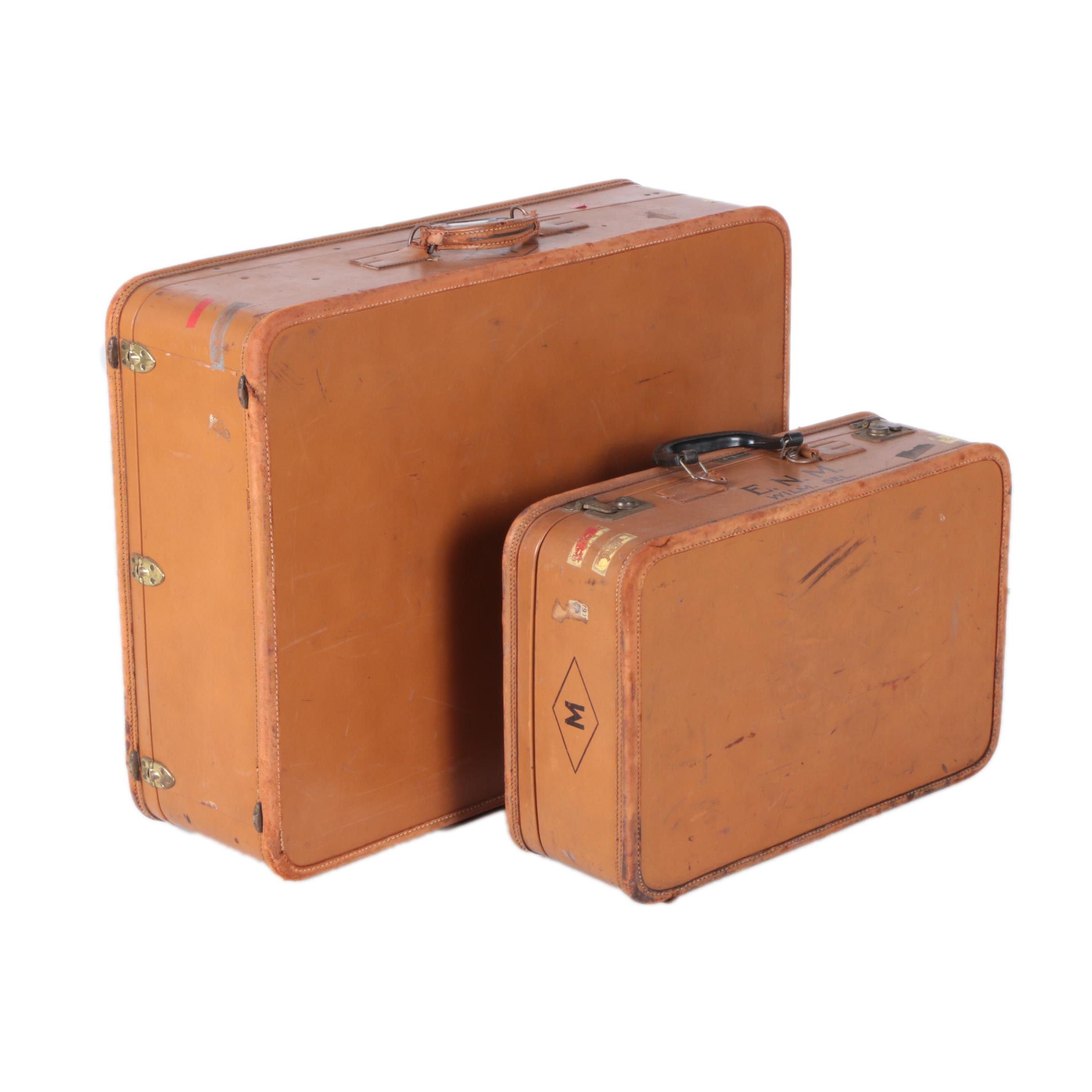 Vintage Amelia Earhart Luggage