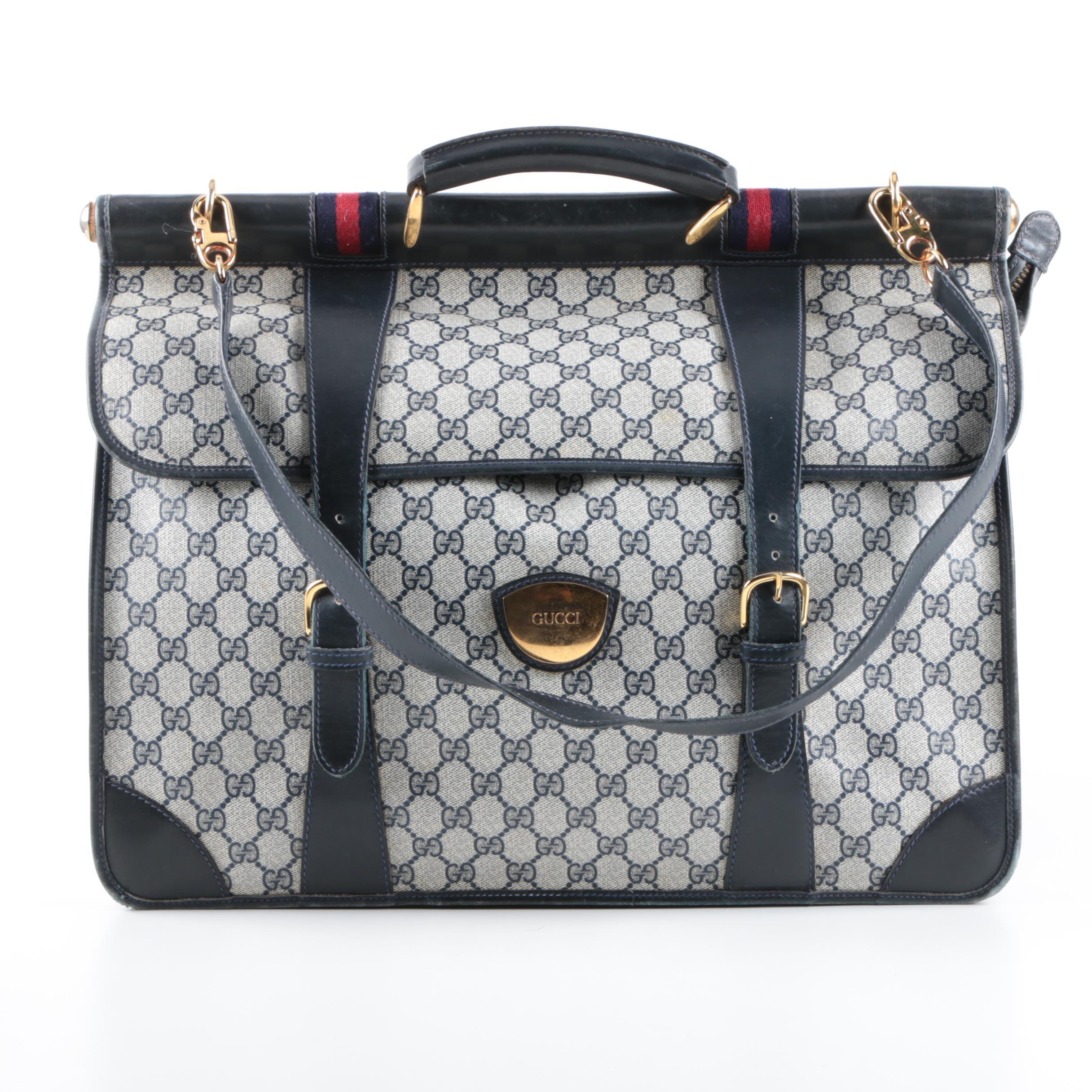 Vintage Gucci Supreme GG Canvas Weekend Bag