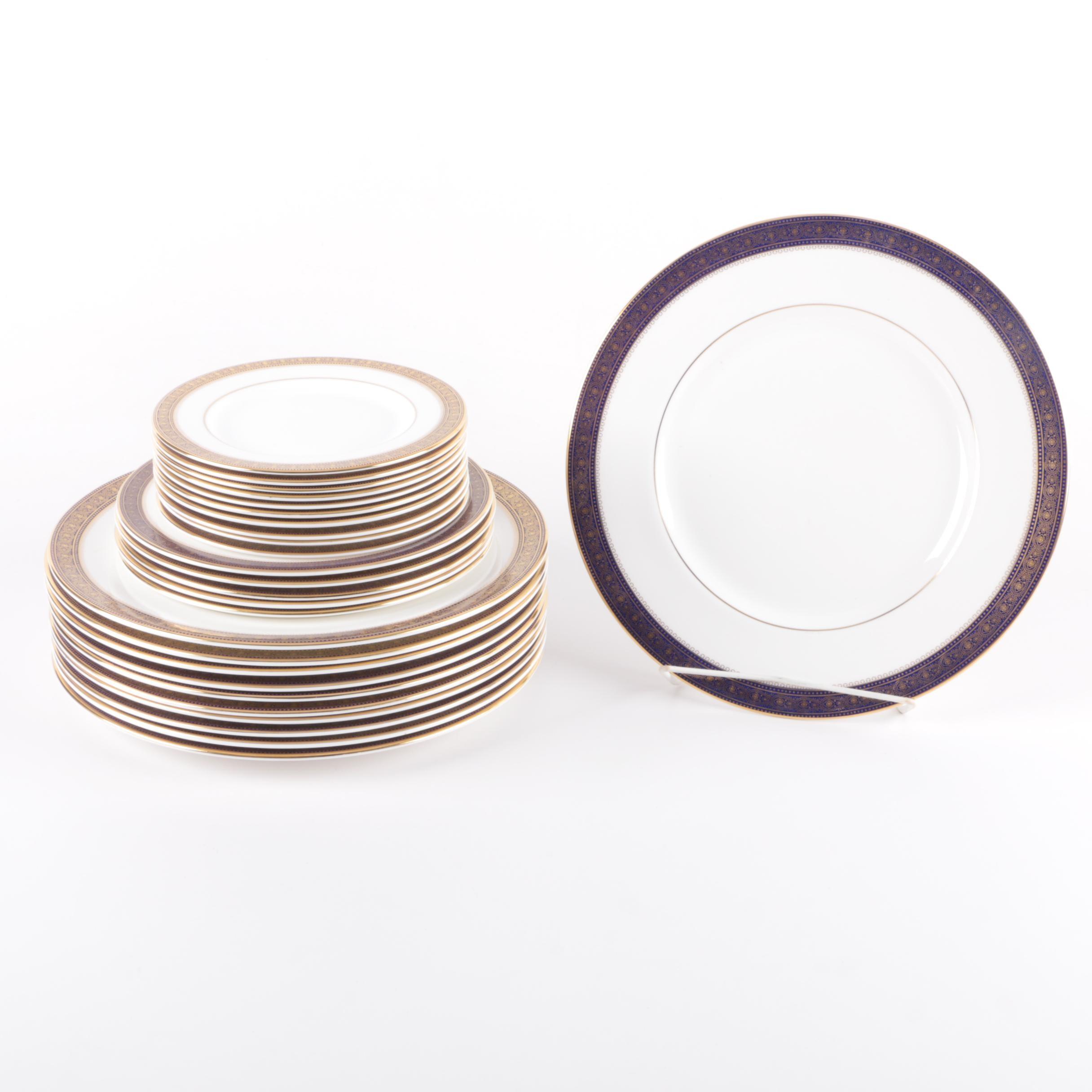 """Vintage Royal Doulton """"Rochelle"""" Porcelain Plates"""