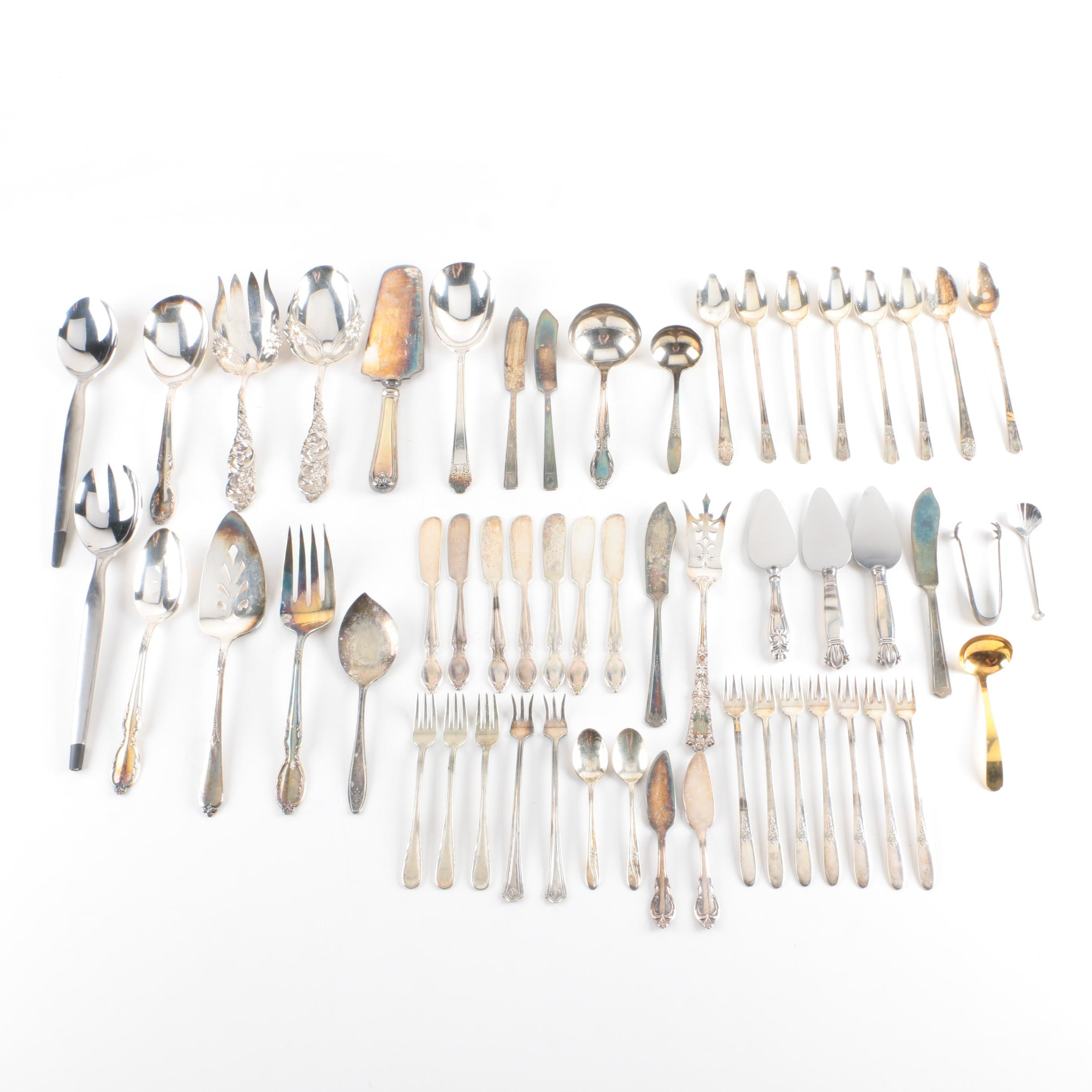 Silver Plate Flatware Assortment