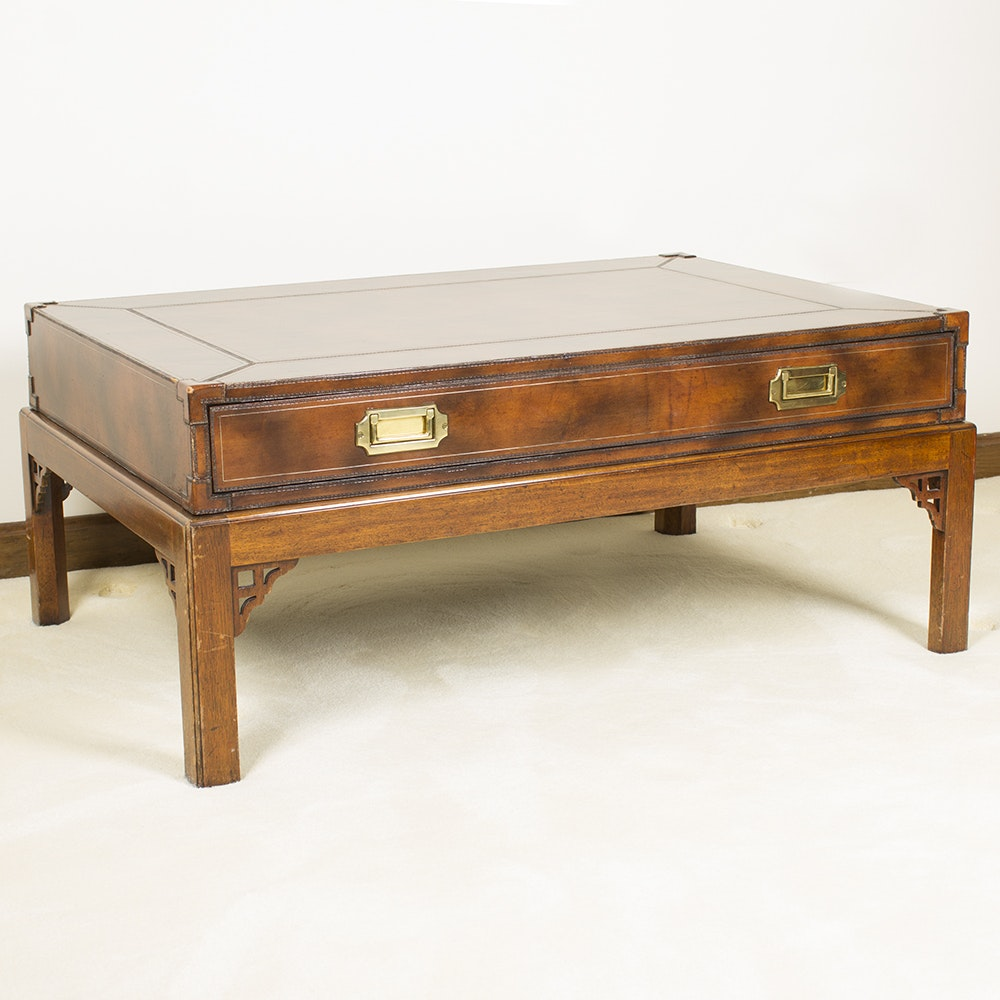 Campaign Style Coffee Table by Maitland-Smith Ltd.