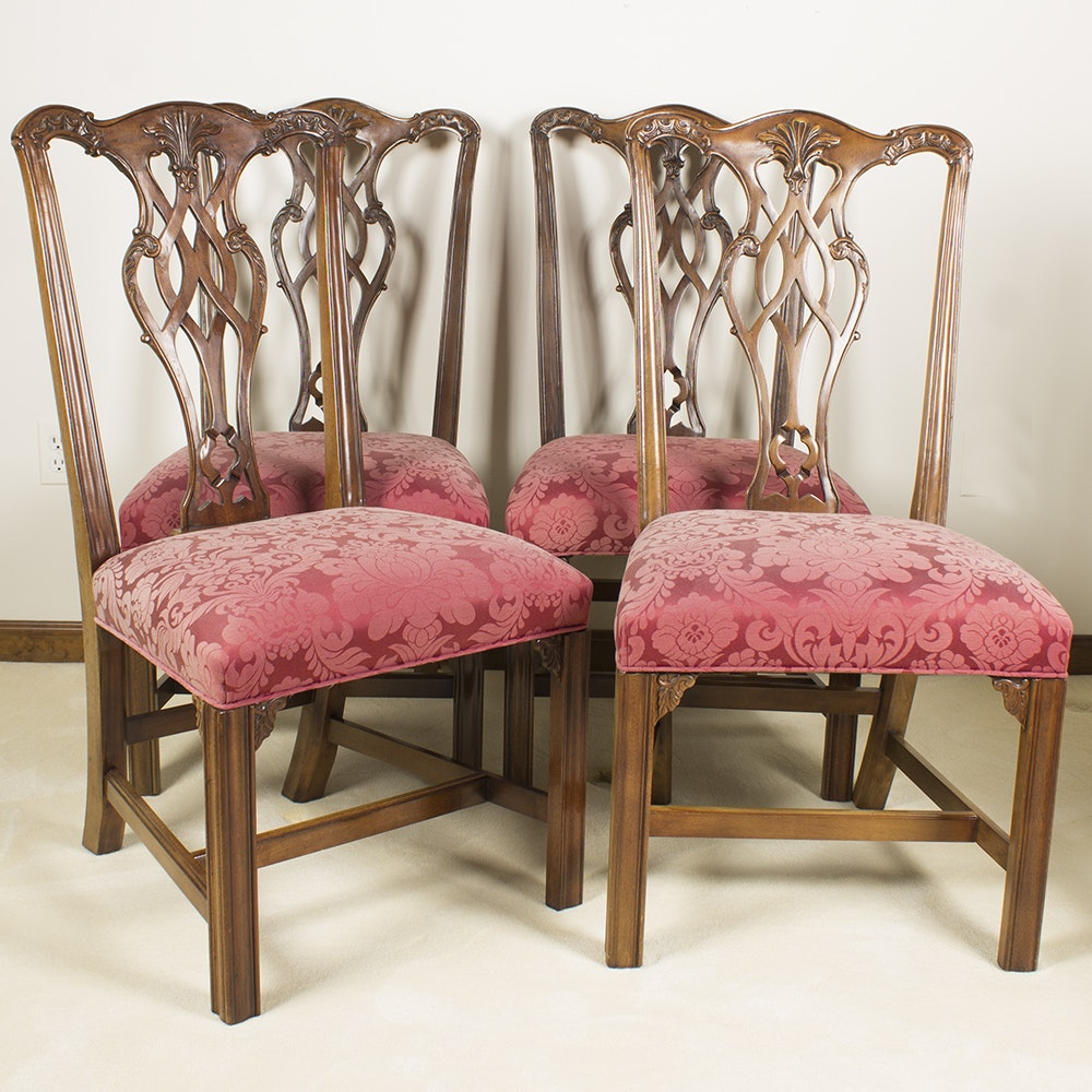Chippendale Style Henredon Dining Chairs