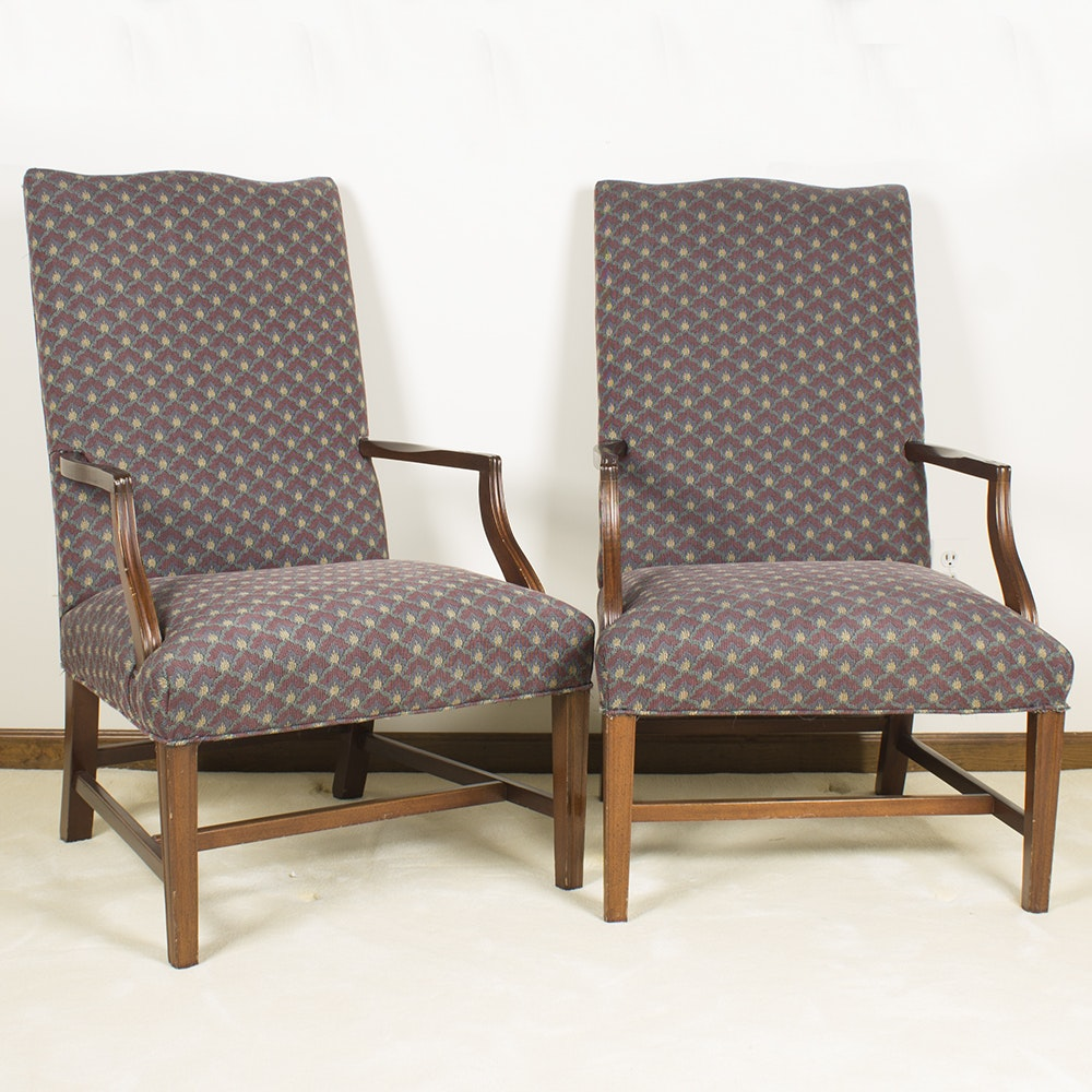 Upholstered Armchairs by Sherrill