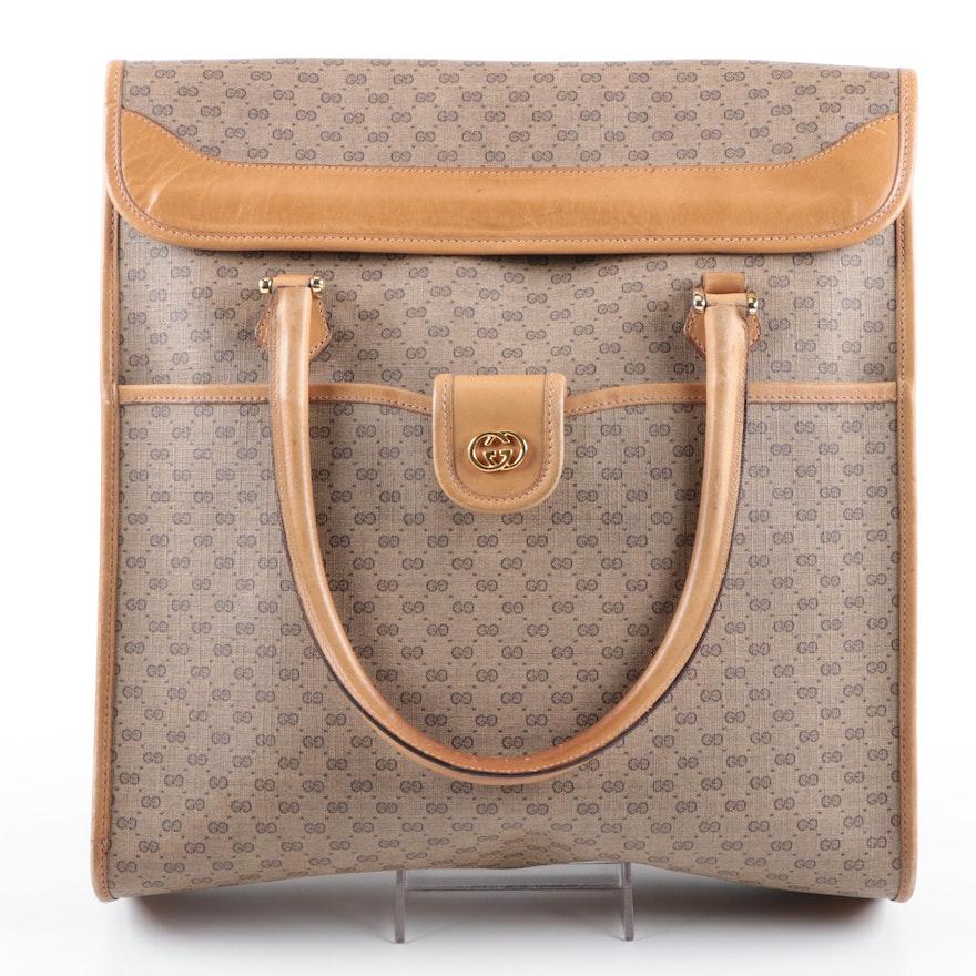 2b965473276 Vintage Gucci Supreme GG Canvas Top Handle Bag   EBTH
