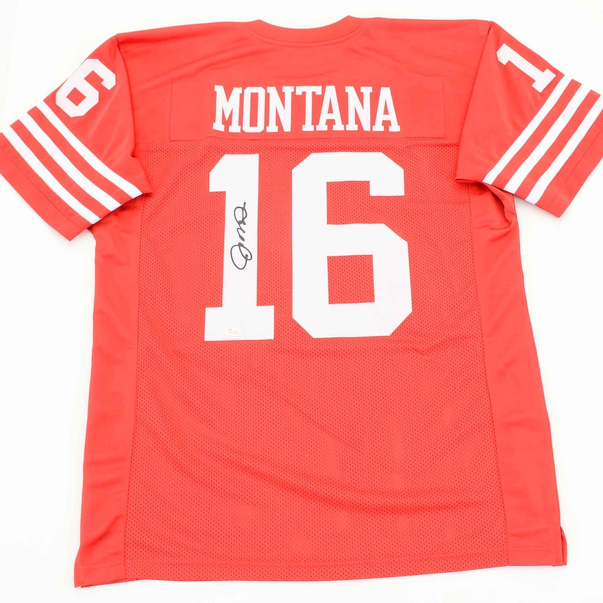 purchase cheap 197bd f5448 Joe Montana Autographed Jersey COA