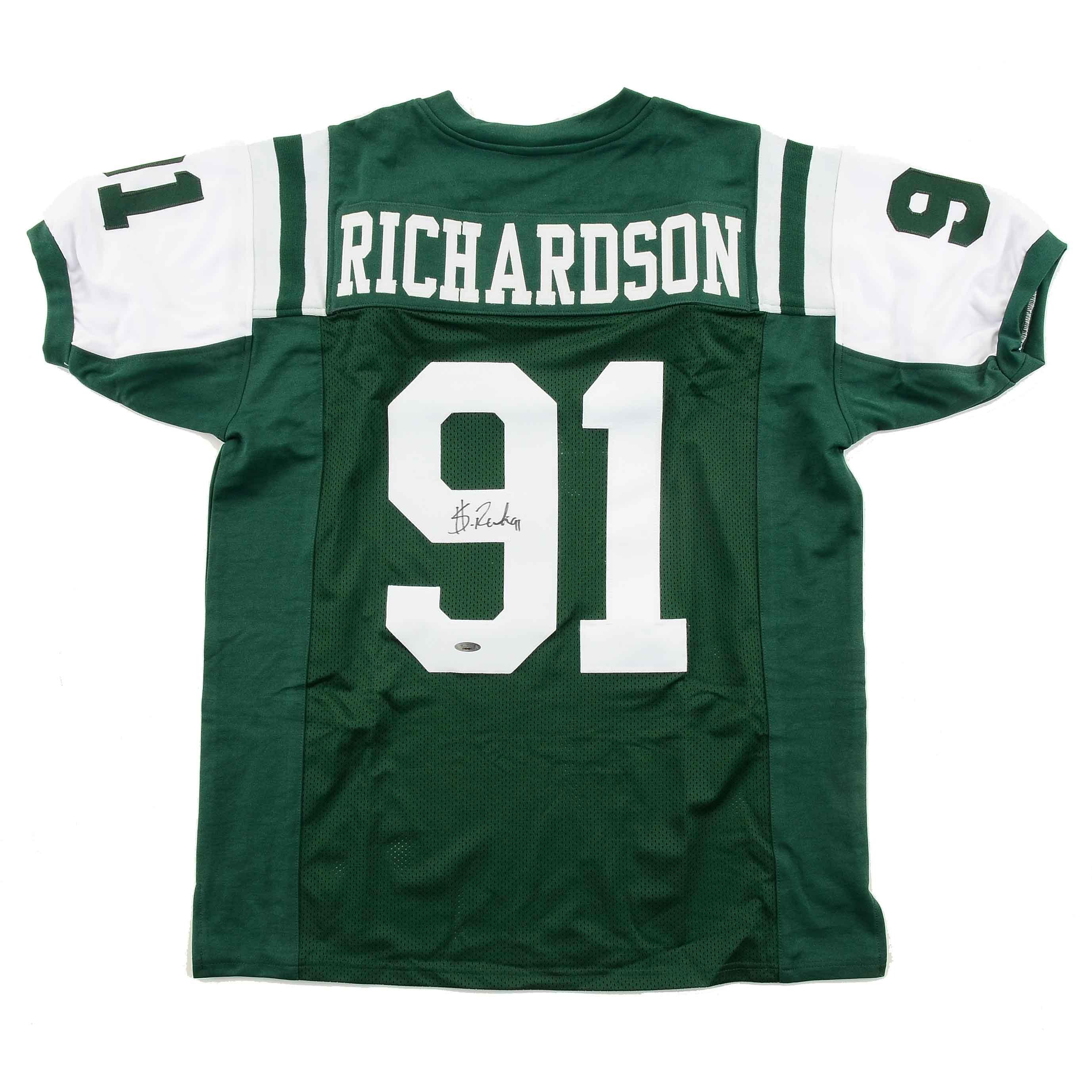 Sheldon Richardson Autographed New York Jets NFL Jersey Tri-Star COA