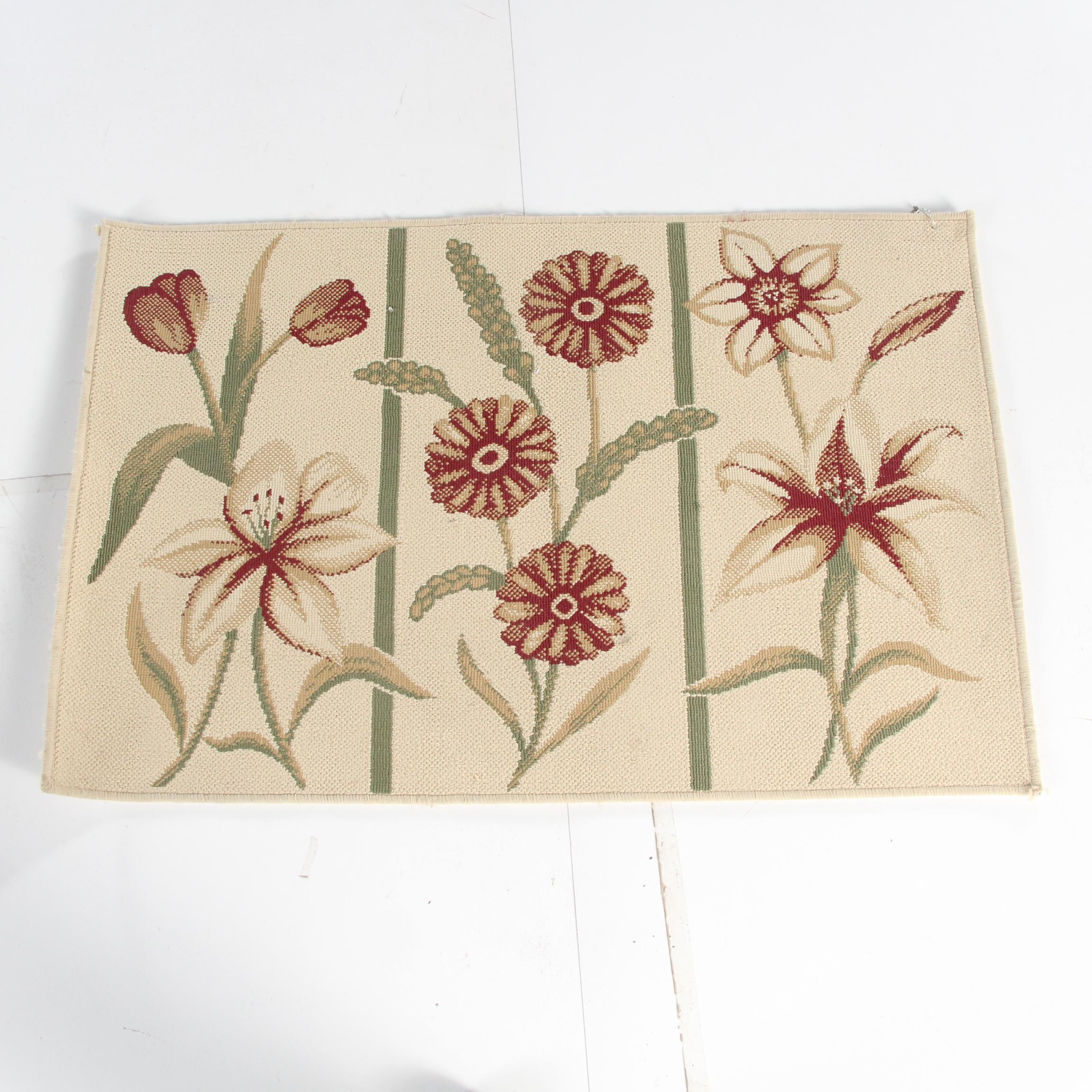 """Power-Loomed Egyptian """"Garden Triptych"""" Accent Rug by Natco Home Fashions"""