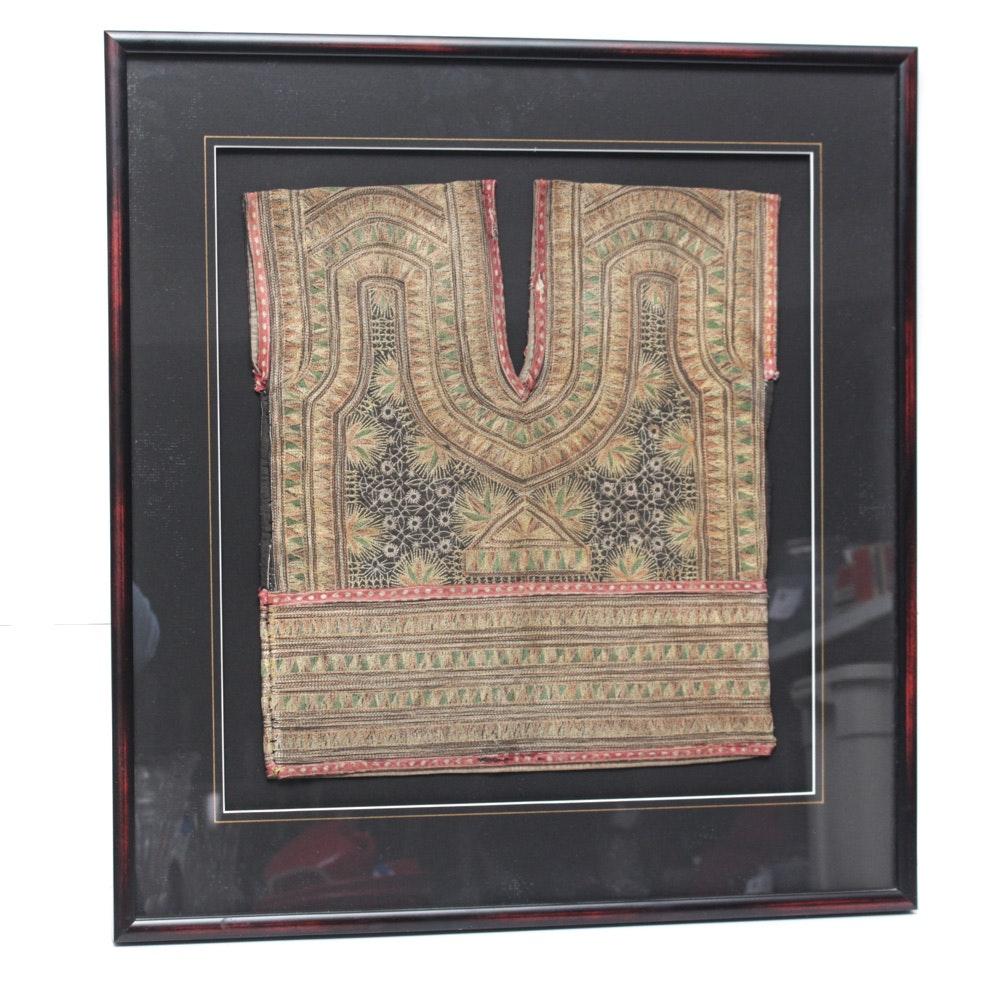 Antique Thai Embroidered Child's Vest