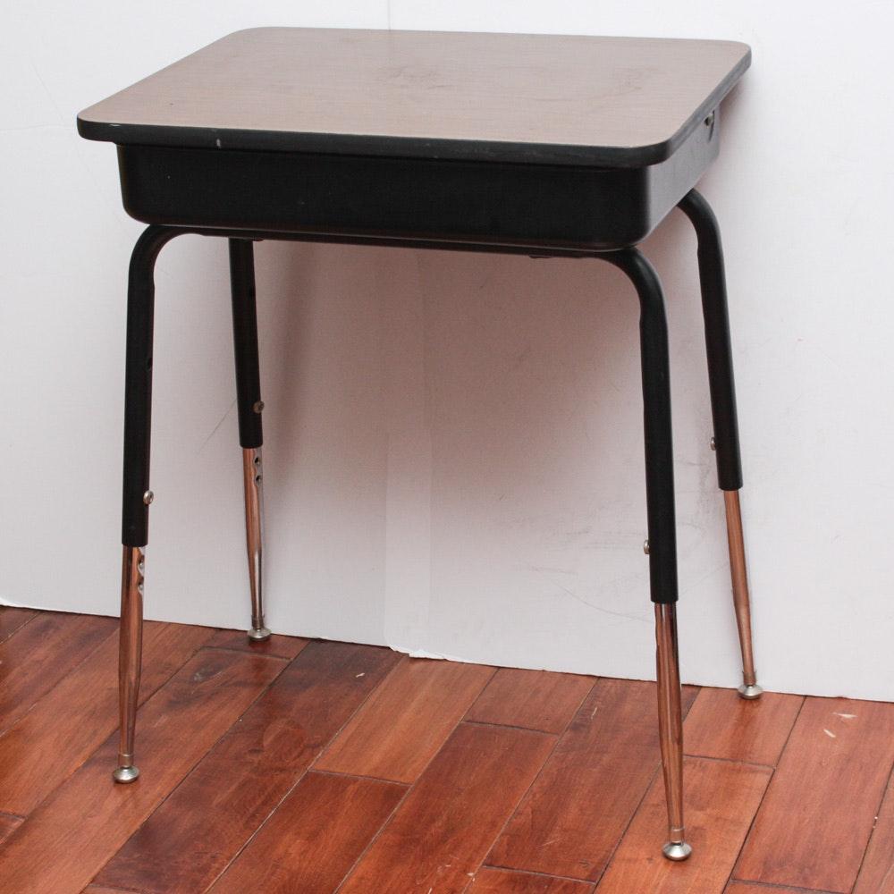 Hinge Top School Desk