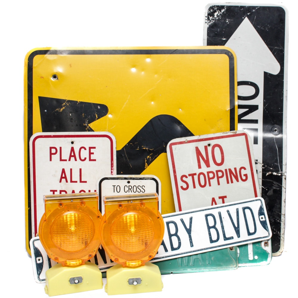 Street Signs, Both Contemporary and Vintage