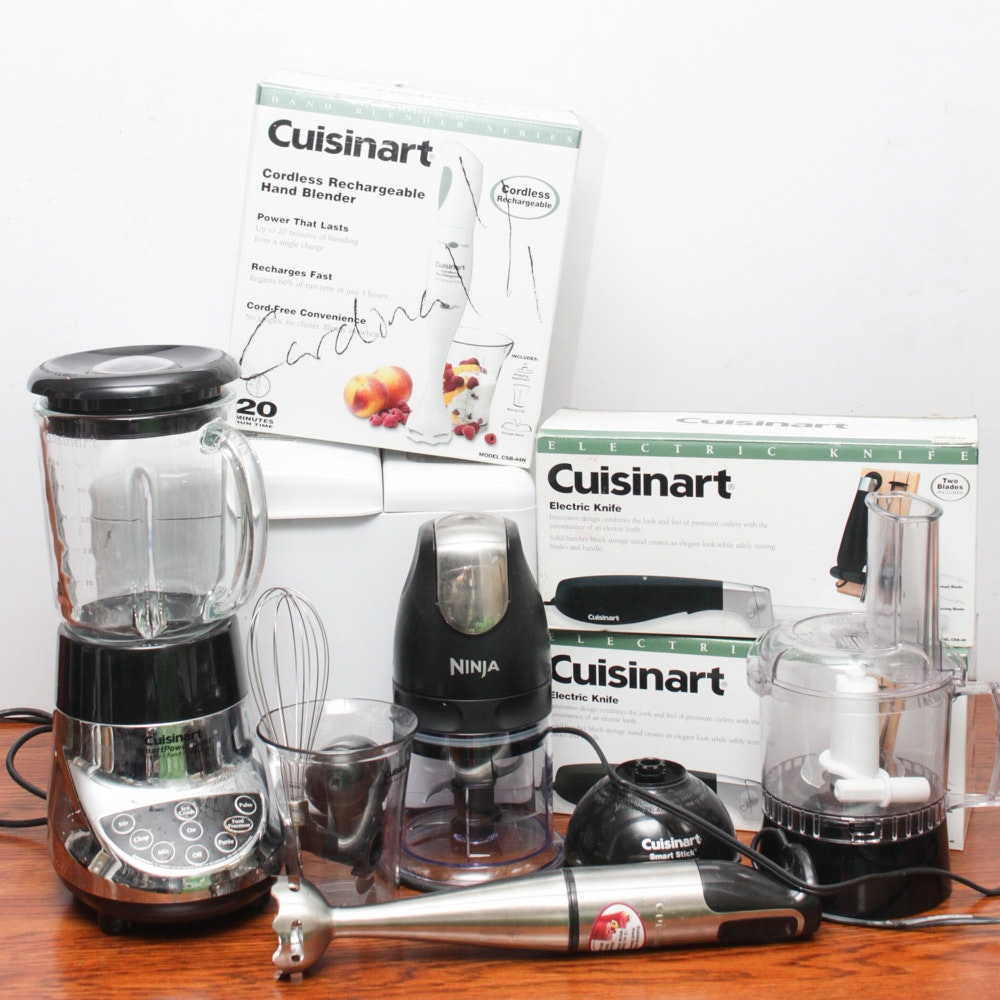 Small Appliance Featuring Cuisinart